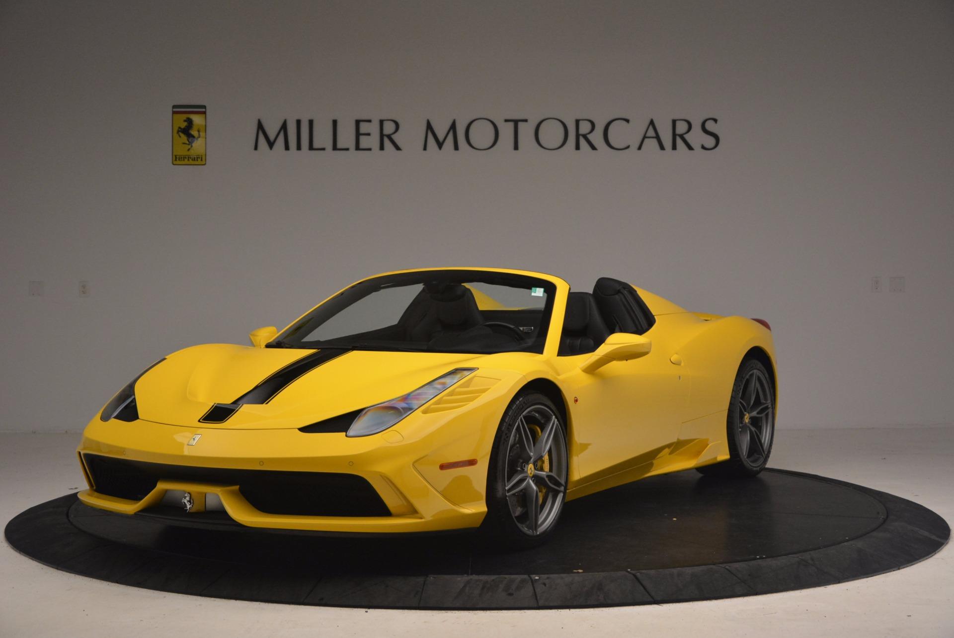 Used 2015 Ferrari 458 Speciale Aperta  For Sale In Greenwich, CT. Alfa Romeo of Greenwich, 4403 1360_main