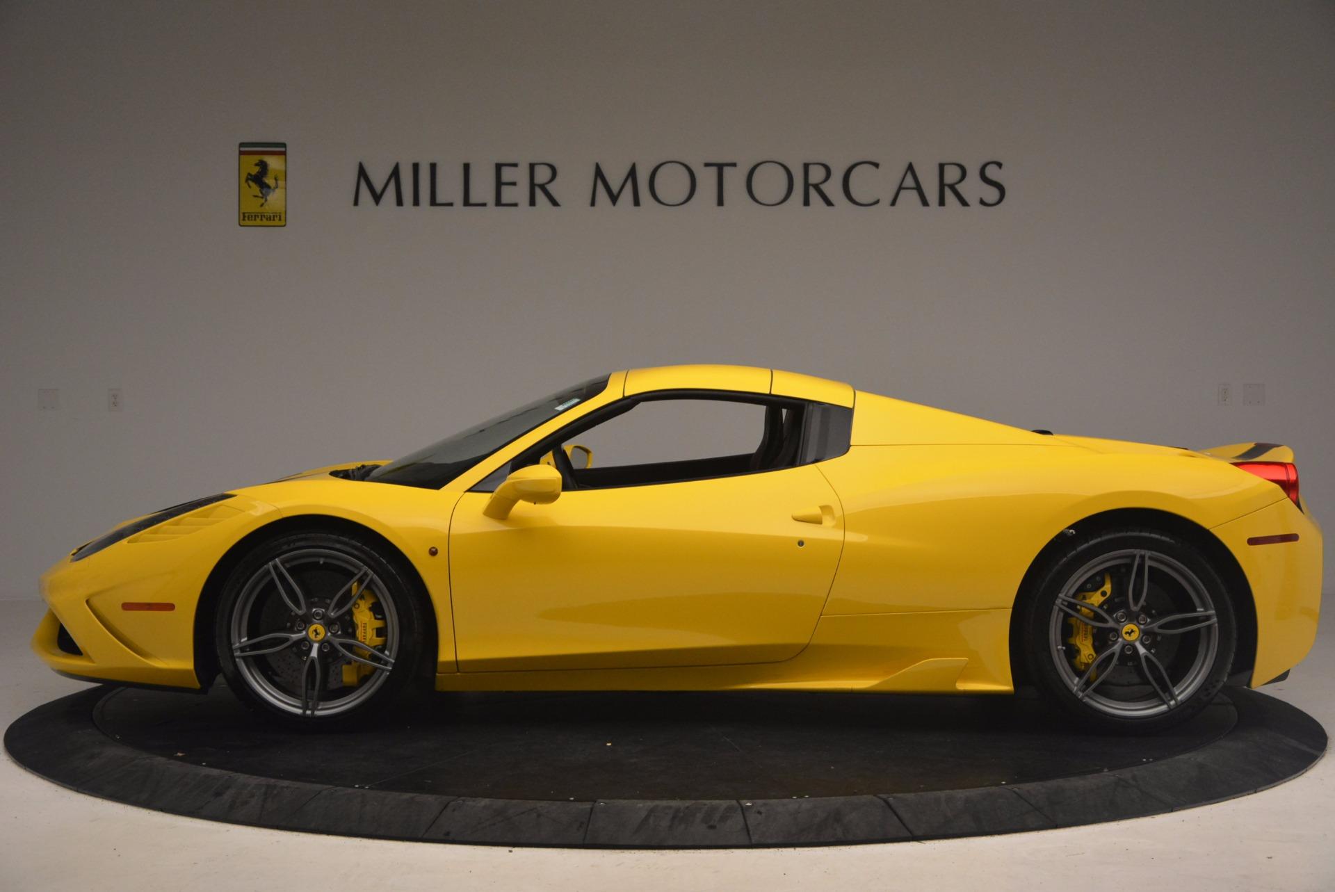 Used 2015 Ferrari 458 Speciale Aperta  For Sale In Greenwich, CT. Alfa Romeo of Greenwich, 4403 1360_p15