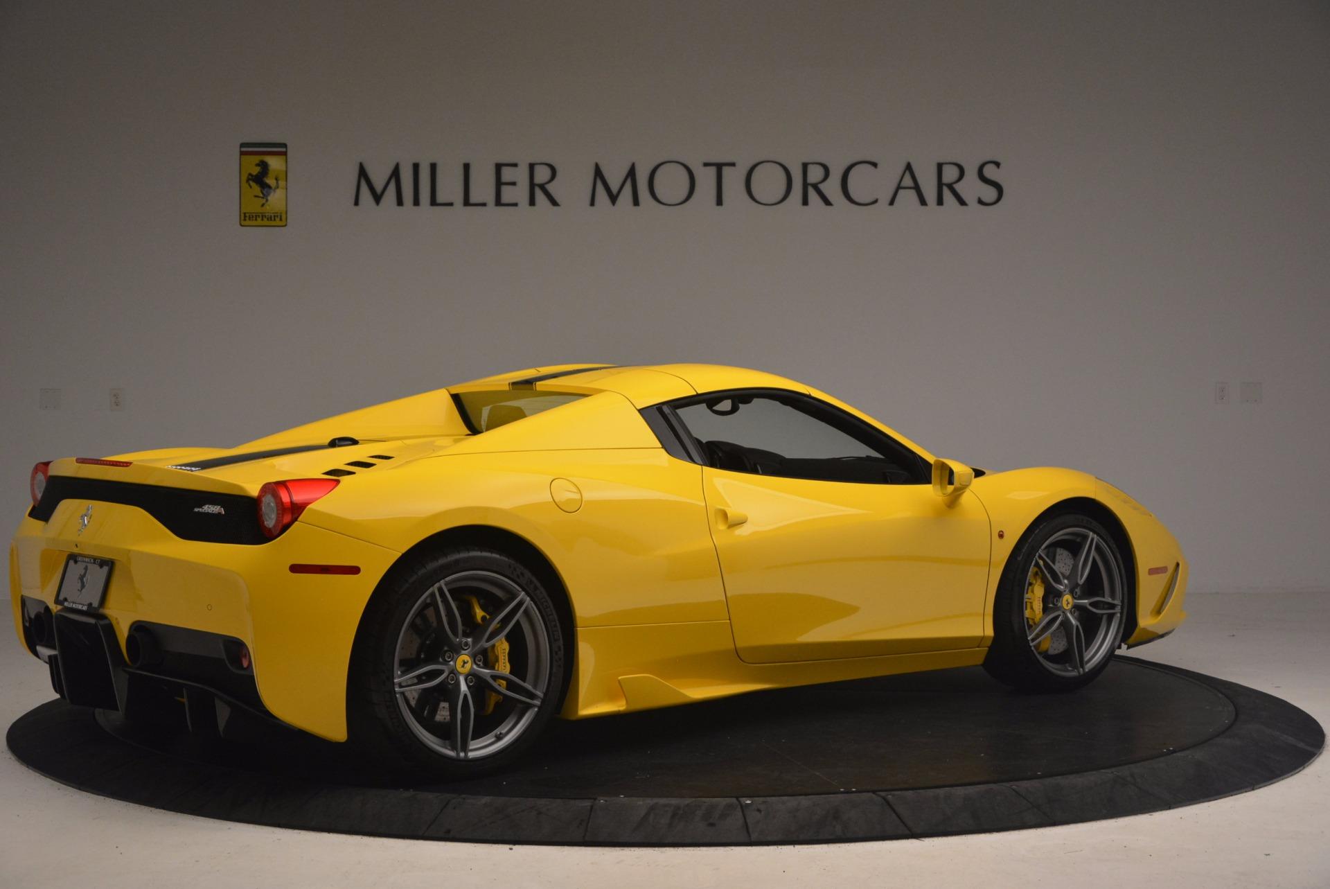 Used 2015 Ferrari 458 Speciale Aperta  For Sale In Greenwich, CT. Alfa Romeo of Greenwich, 4403 1360_p20
