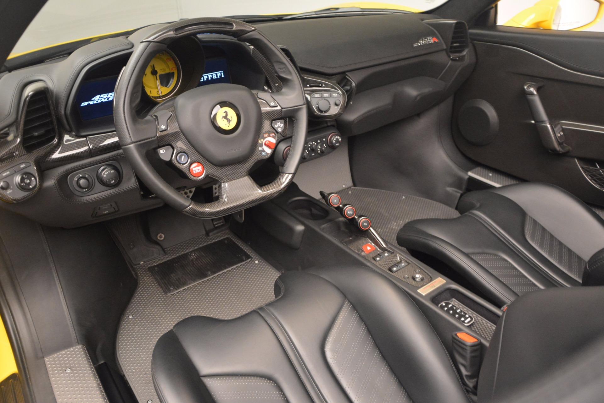 Used 2015 Ferrari 458 Speciale Aperta  For Sale In Greenwich, CT. Alfa Romeo of Greenwich, 4403 1360_p25