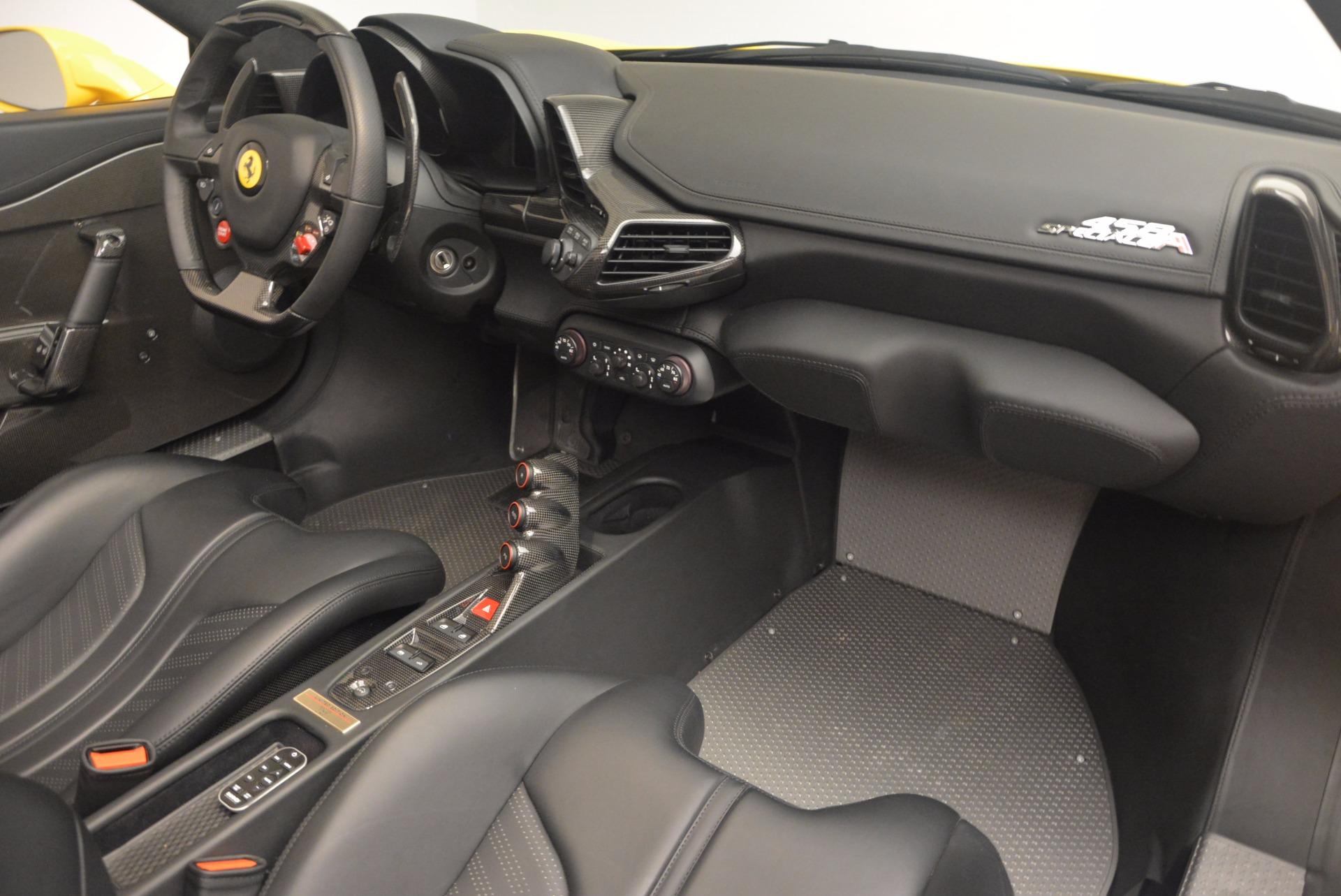 Used 2015 Ferrari 458 Speciale Aperta  For Sale In Greenwich, CT. Alfa Romeo of Greenwich, 4403 1360_p29