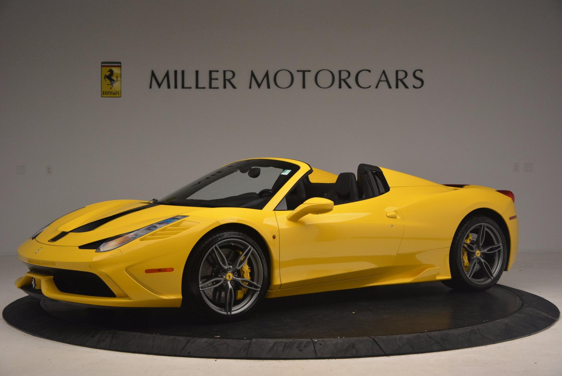 Used 2015 Ferrari 458 Speciale Aperta  For Sale In Greenwich, CT. Alfa Romeo of Greenwich, 4403 1360_p2