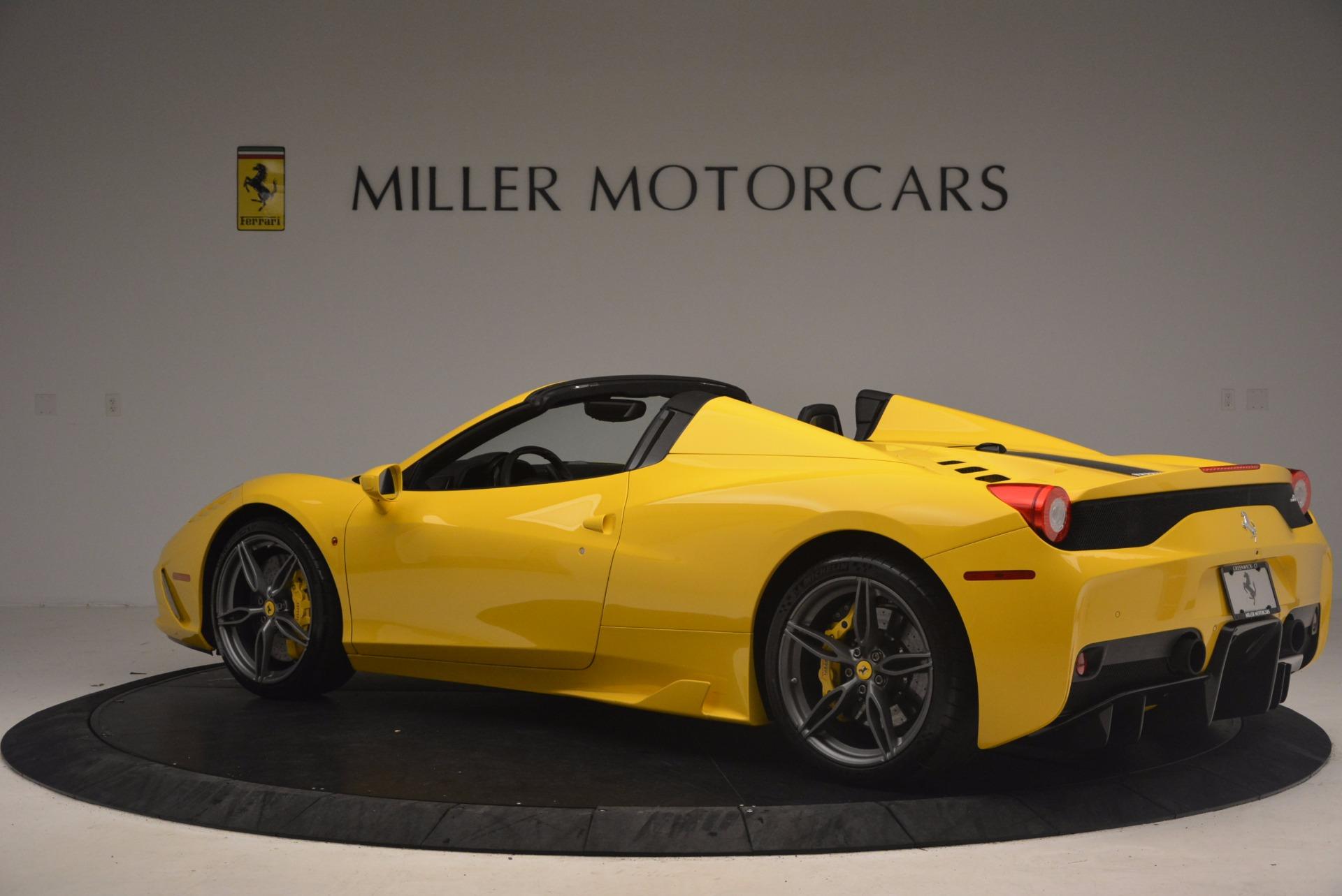 Used 2015 Ferrari 458 Speciale Aperta  For Sale In Greenwich, CT. Alfa Romeo of Greenwich, 4403 1360_p4