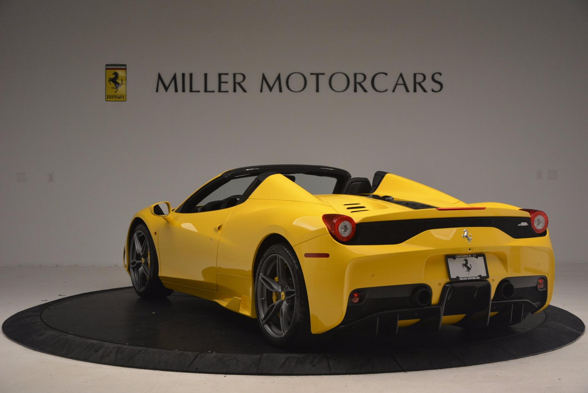 Used 2015 Ferrari 458 Speciale Aperta  For Sale In Greenwich, CT. Alfa Romeo of Greenwich, 4403 1360_p5