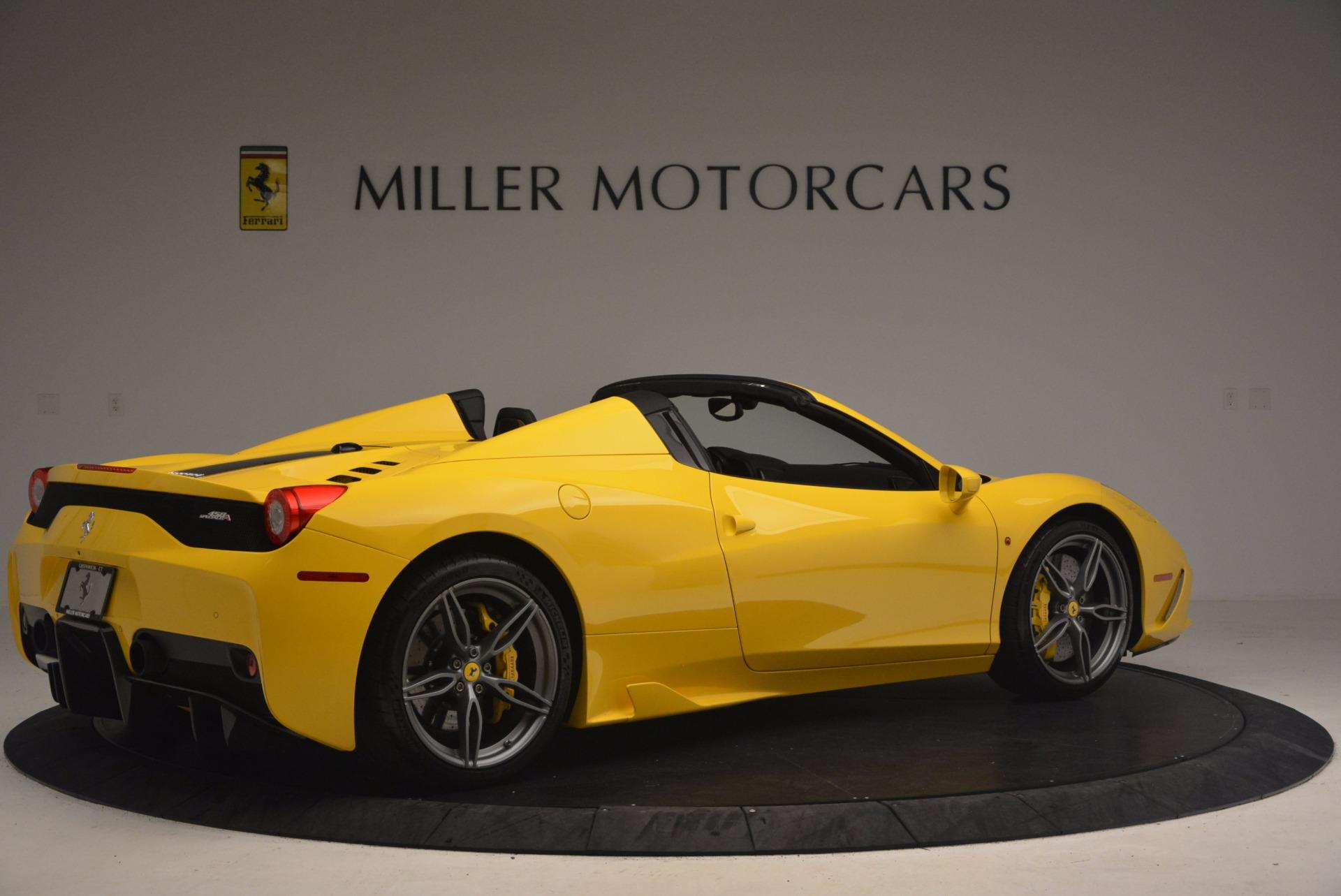 Used 2015 Ferrari 458 Speciale Aperta  For Sale In Greenwich, CT. Alfa Romeo of Greenwich, 4403 1360_p8