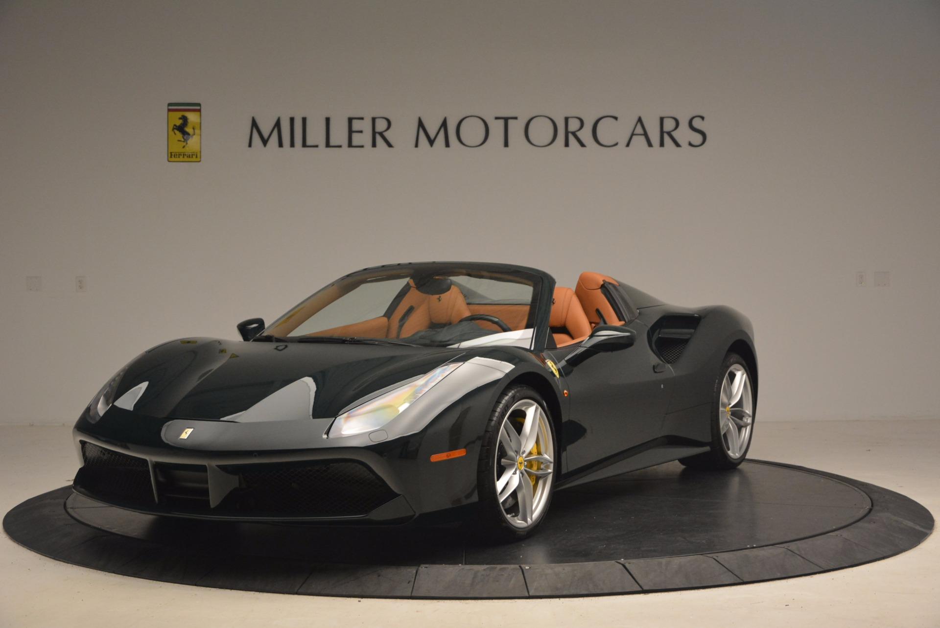 Used 2016 Ferrari 488 Spider  For Sale In Greenwich, CT. Alfa Romeo of Greenwich, 4402 1361_main