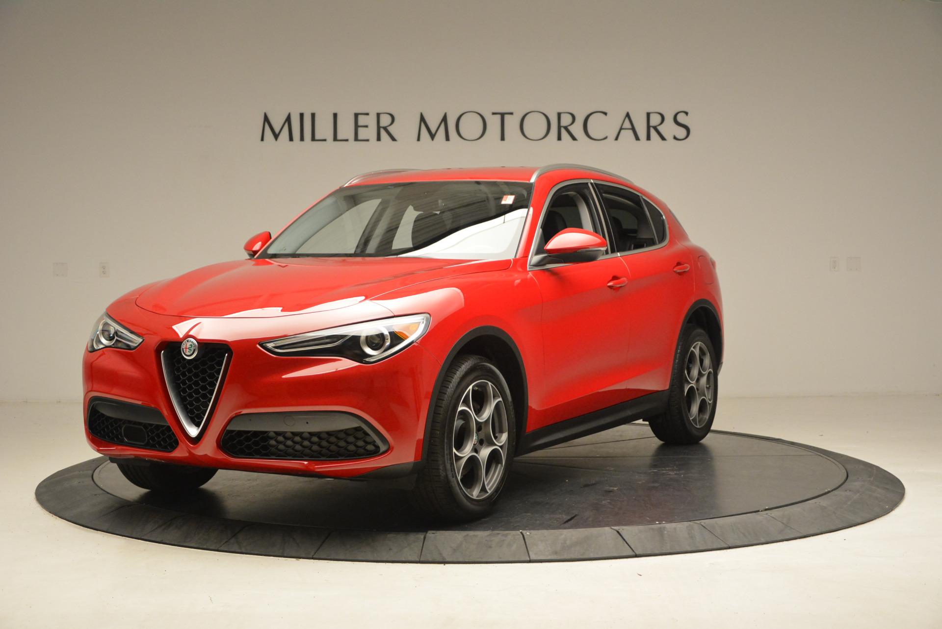 New 2018 Alfa Romeo Stelvio Q4 For Sale In Greenwich, CT. Alfa Romeo of Greenwich, L167 1365_main