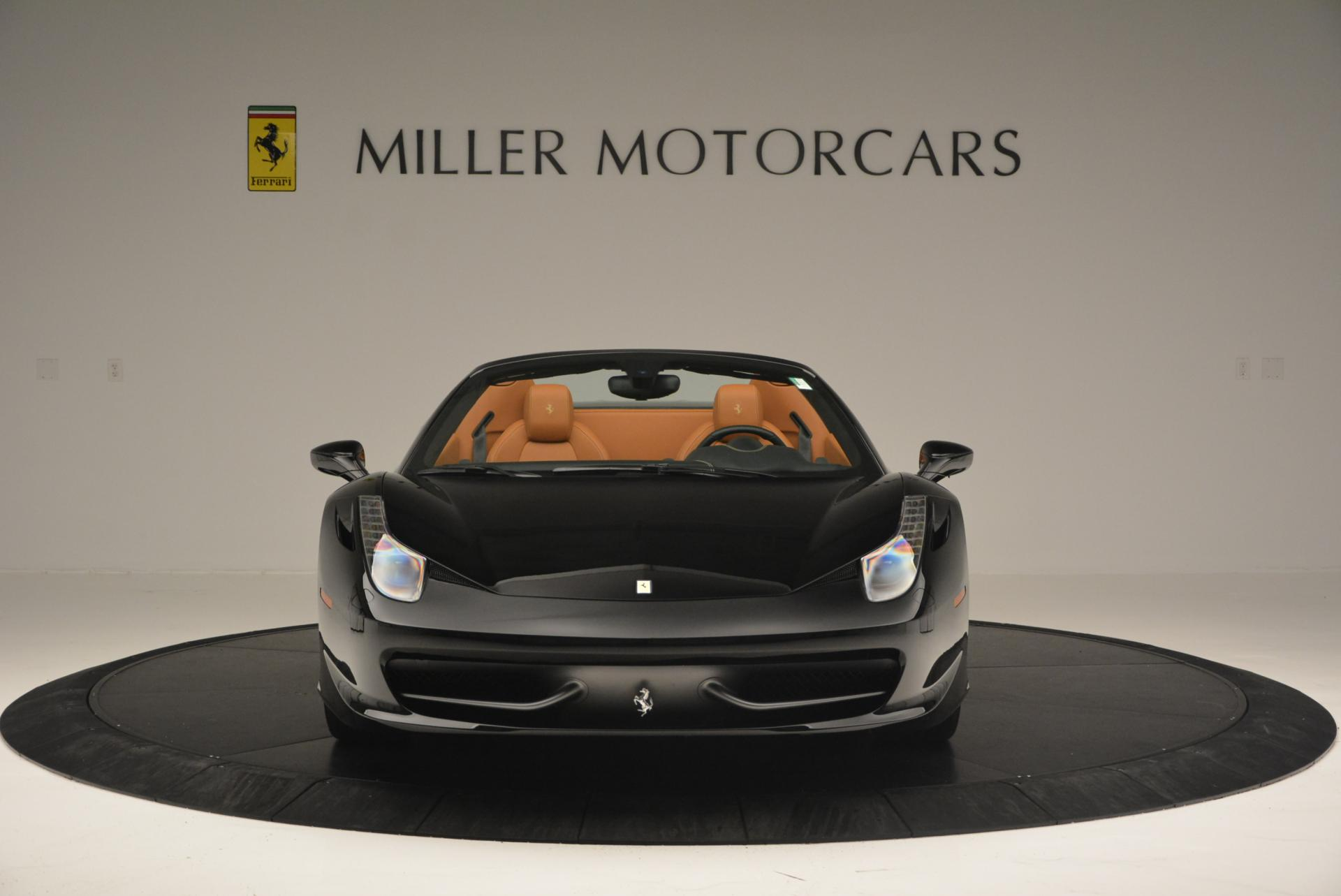 Used 2015 Ferrari 458 Spider  For Sale In Greenwich, CT. Alfa Romeo of Greenwich, 4313 137_p12