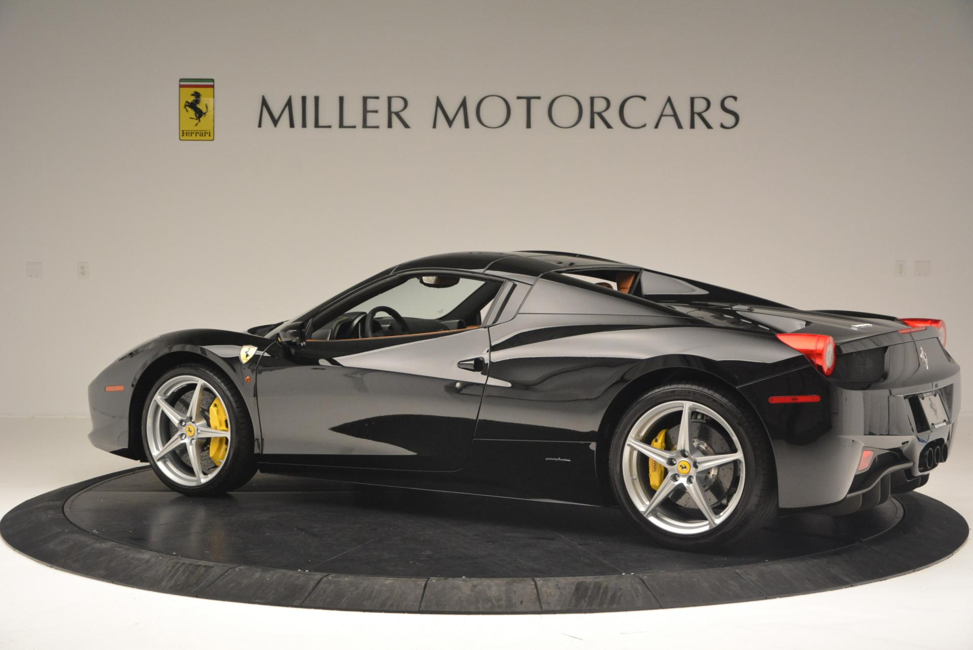 Used 2015 Ferrari 458 Spider  For Sale In Greenwich, CT. Alfa Romeo of Greenwich, 4313 137_p16