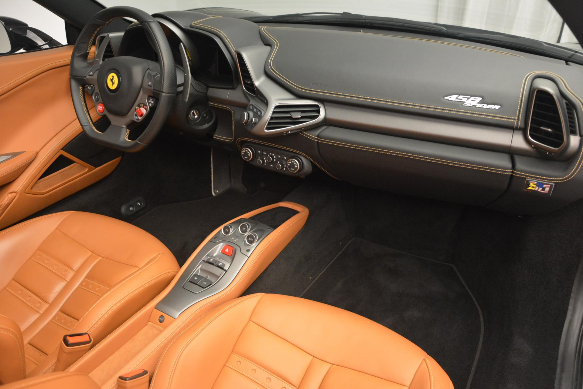 Used 2015 Ferrari 458 Spider  For Sale In Greenwich, CT. Alfa Romeo of Greenwich, 4313 137_p29