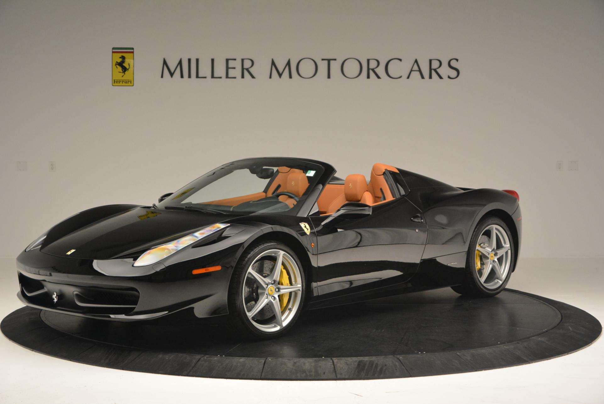 Used 2015 Ferrari 458 Spider  For Sale In Greenwich, CT. Alfa Romeo of Greenwich, 4313 137_p2