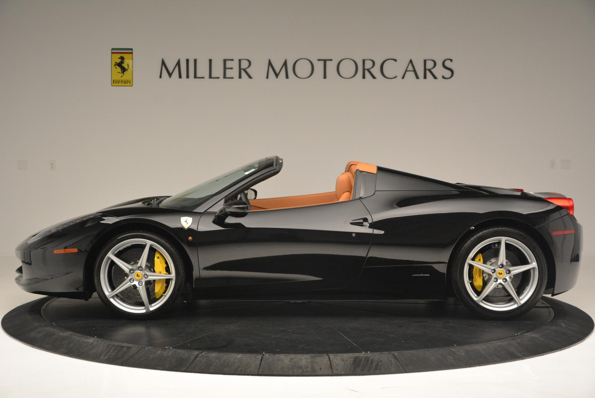 Used 2015 Ferrari 458 Spider  For Sale In Greenwich, CT. Alfa Romeo of Greenwich, 4313 137_p3