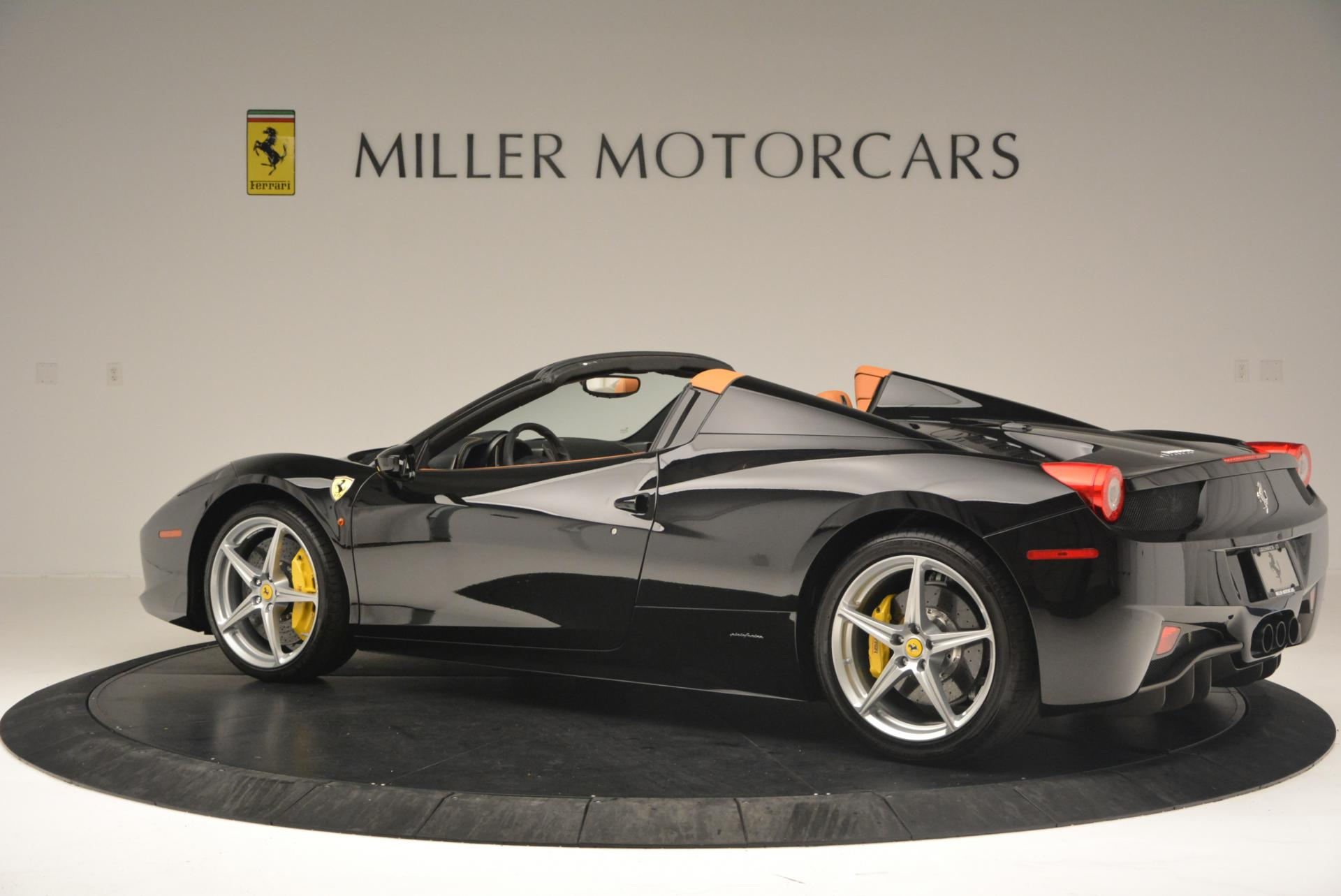 Used 2015 Ferrari 458 Spider  For Sale In Greenwich, CT. Alfa Romeo of Greenwich, 4313 137_p4