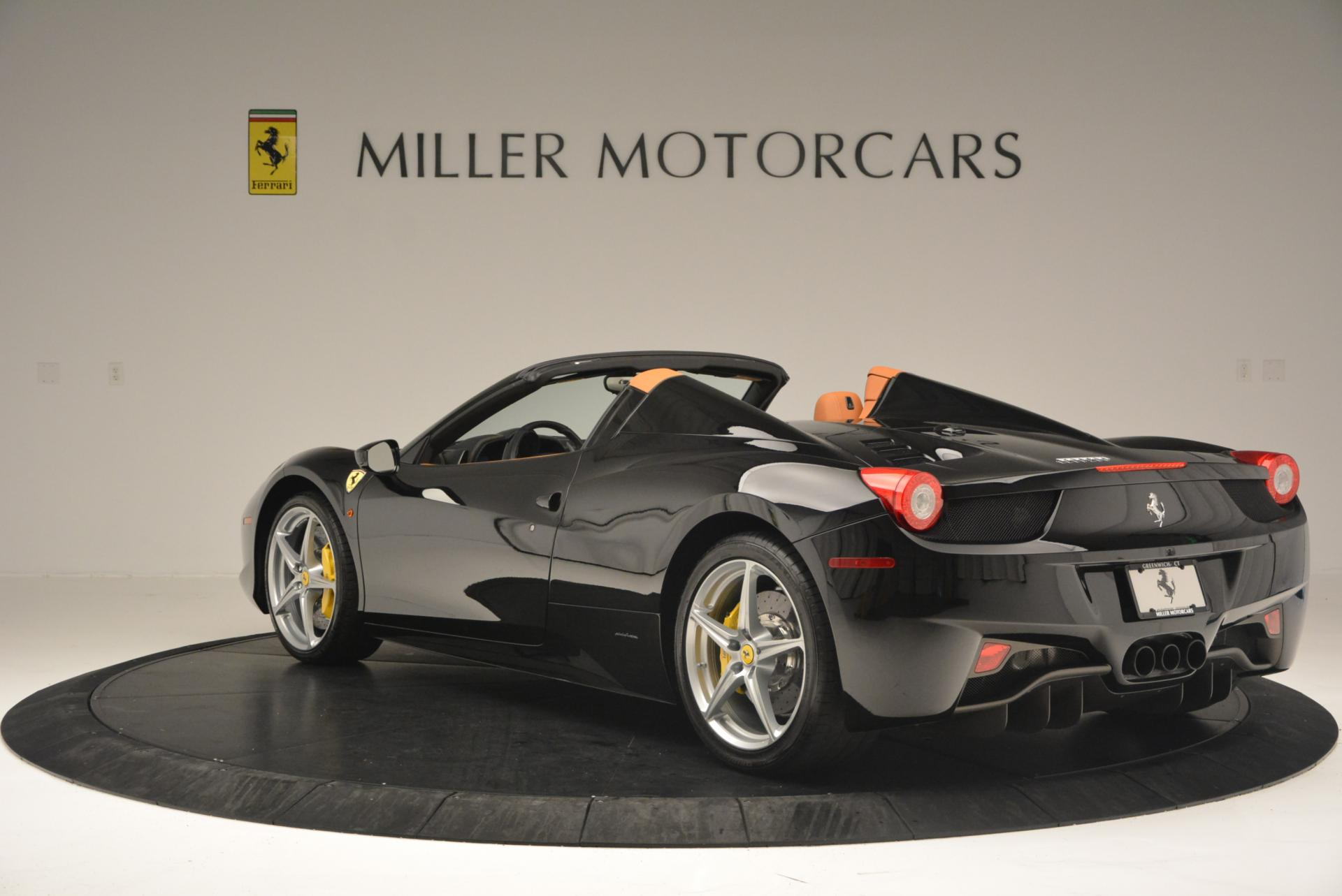 Used 2015 Ferrari 458 Spider  For Sale In Greenwich, CT. Alfa Romeo of Greenwich, 4313 137_p5