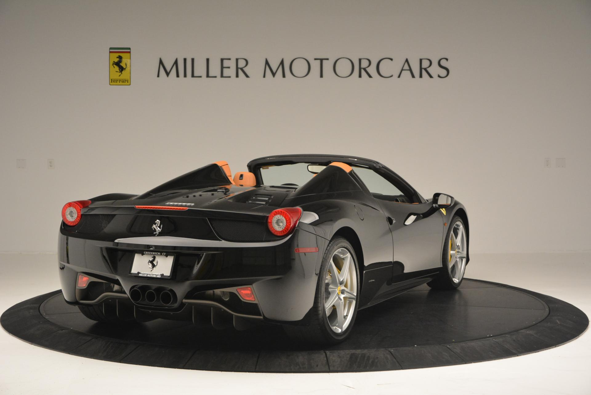 Used 2015 Ferrari 458 Spider  For Sale In Greenwich, CT. Alfa Romeo of Greenwich, 4313 137_p7