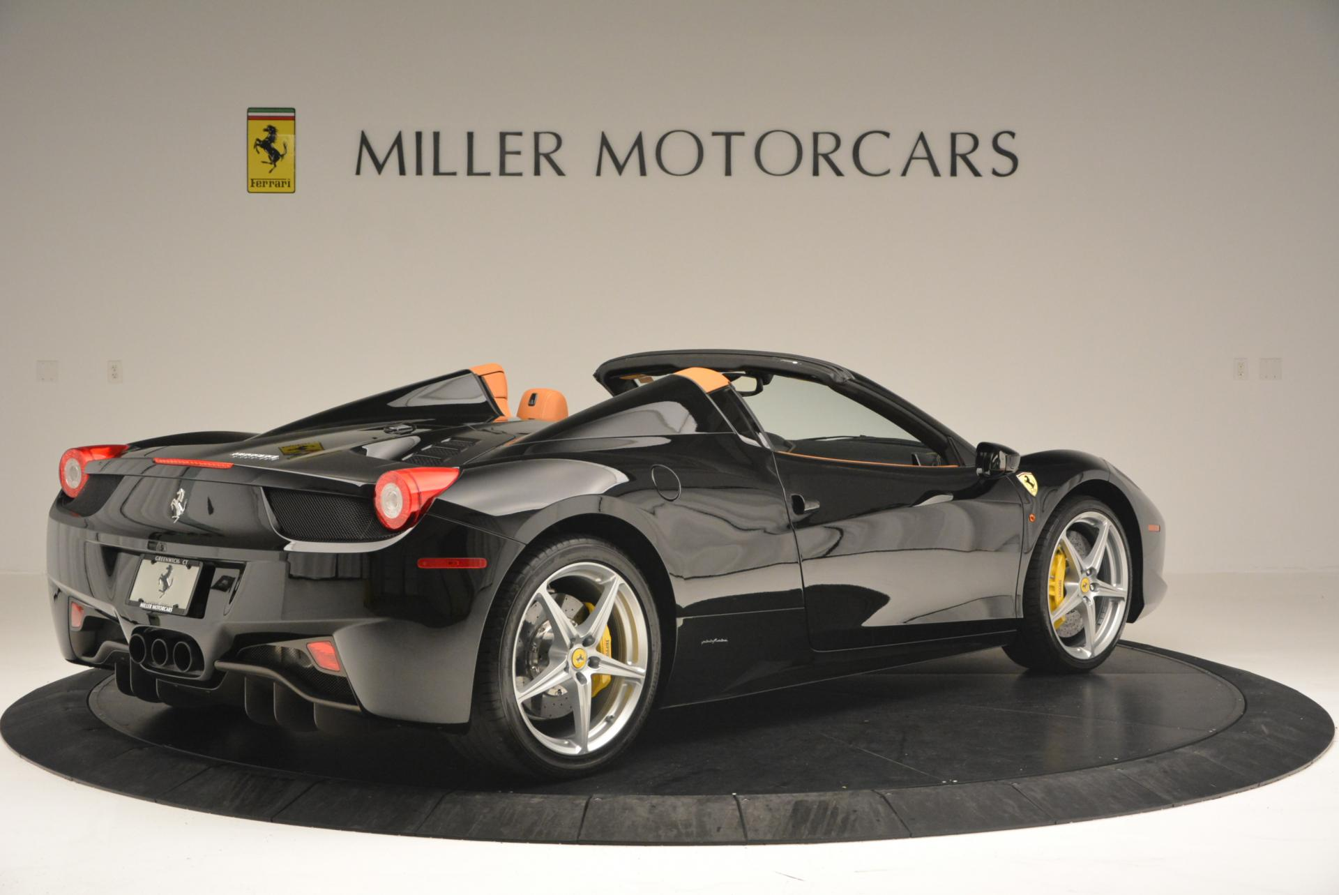 Used 2015 Ferrari 458 Spider  For Sale In Greenwich, CT. Alfa Romeo of Greenwich, 4313 137_p8