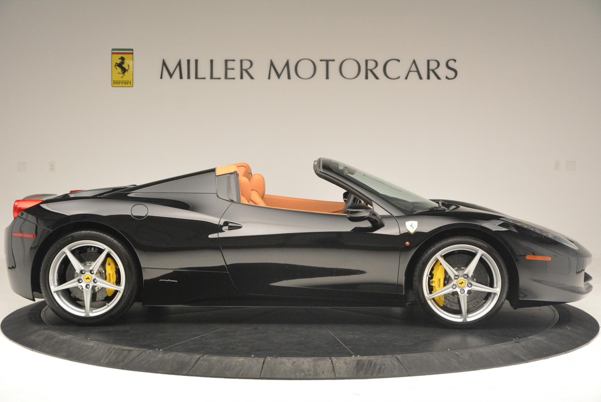 Used 2015 Ferrari 458 Spider  For Sale In Greenwich, CT. Alfa Romeo of Greenwich, 4313 137_p9
