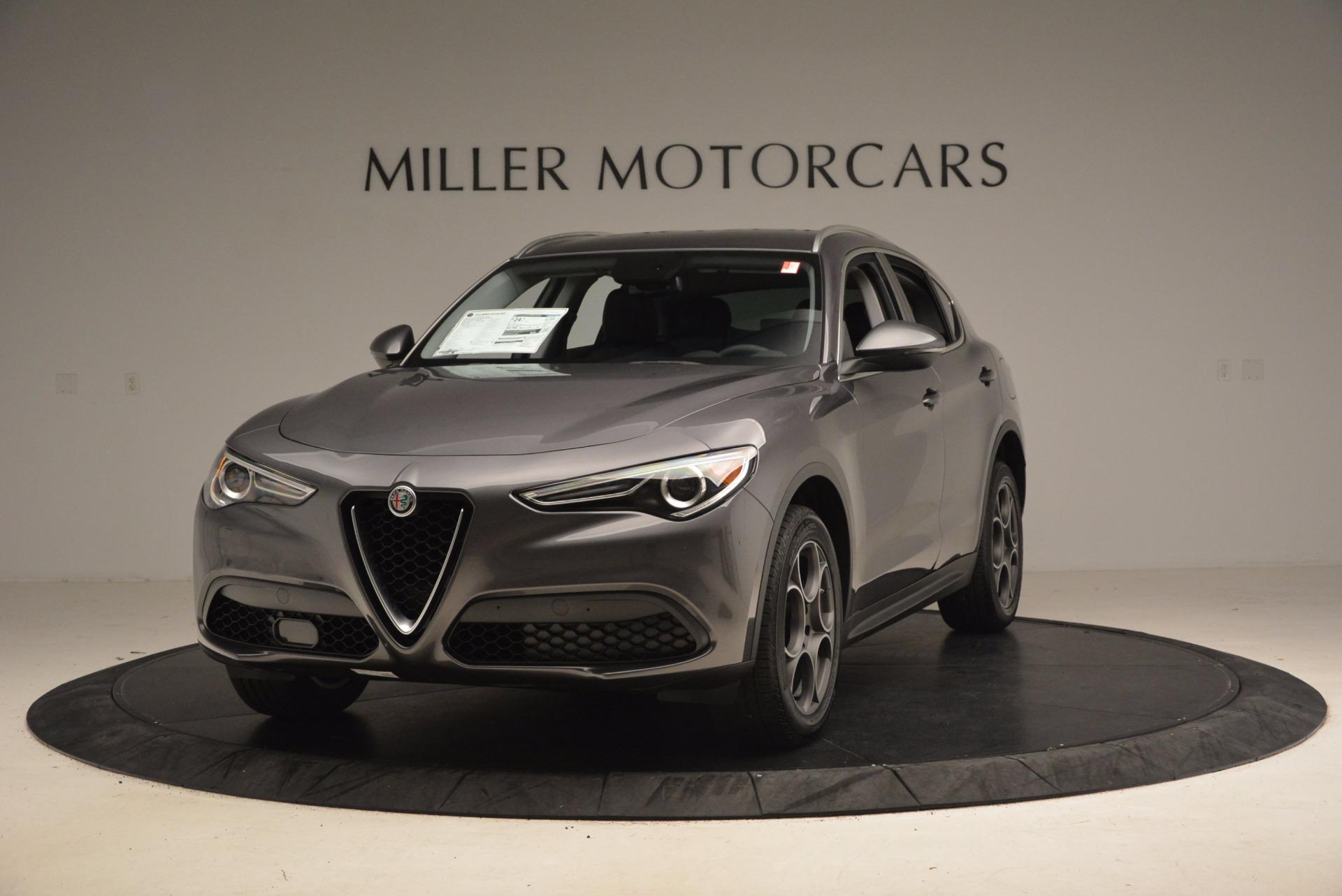 New 2018 Alfa Romeo Stelvio Q4 For Sale In Greenwich, CT. Alfa Romeo of Greenwich, L179 1376_main