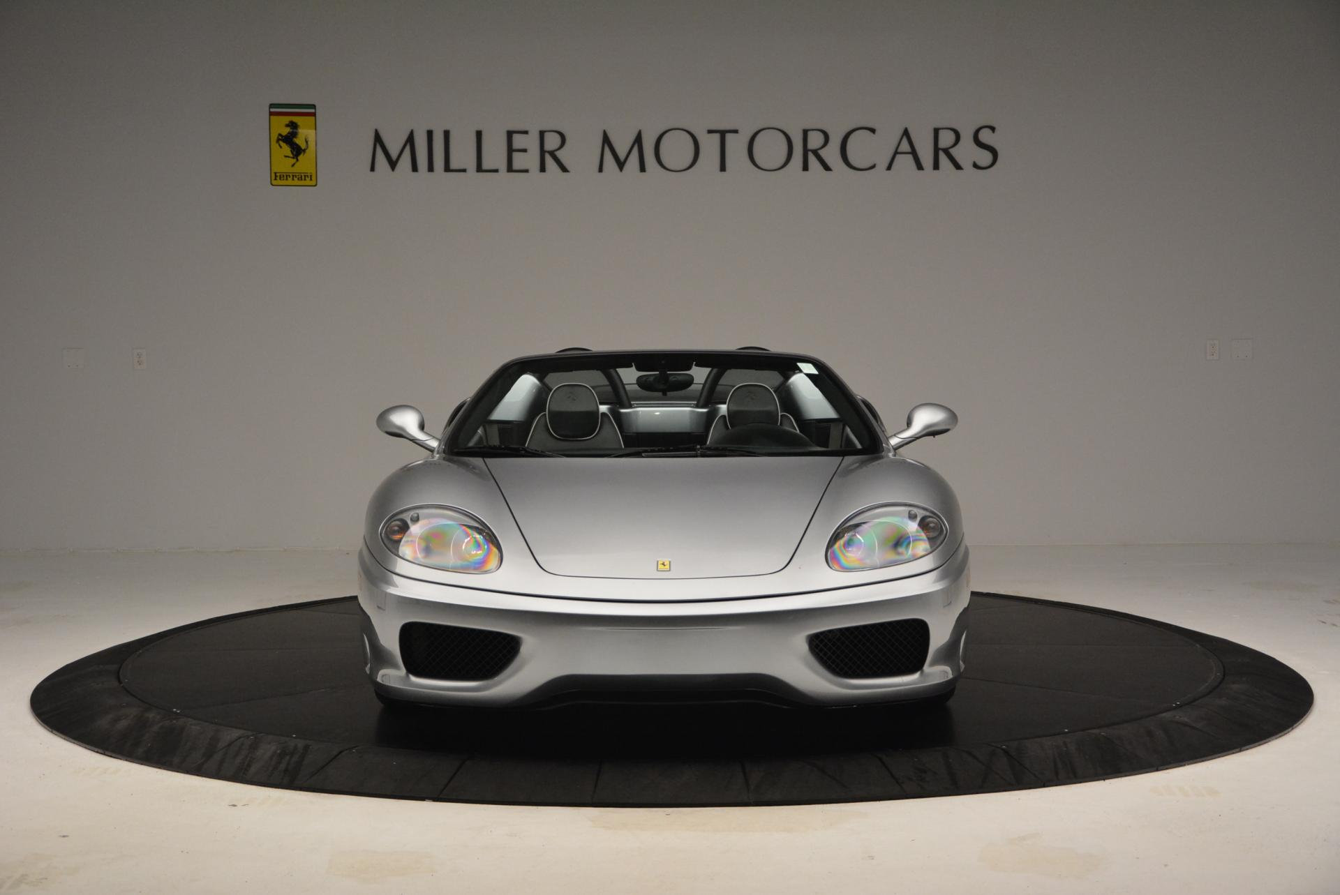 Used 2004 Ferrari 360 Spider 6-Speed Manual  For Sale In Greenwich, CT. Alfa Romeo of Greenwich, 4317 138_p12