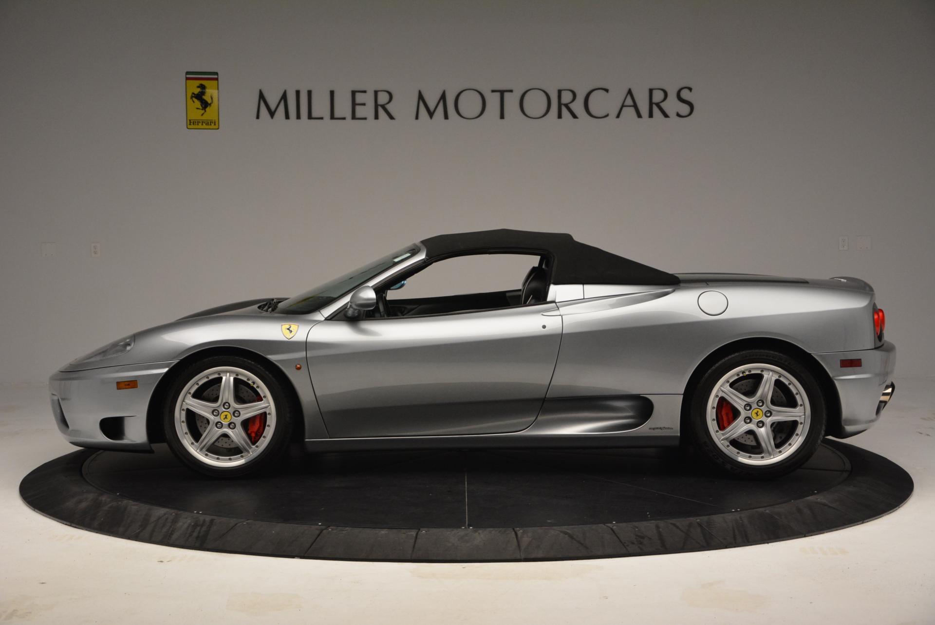 Used 2004 Ferrari 360 Spider 6-Speed Manual  For Sale In Greenwich, CT. Alfa Romeo of Greenwich, 4317 138_p15