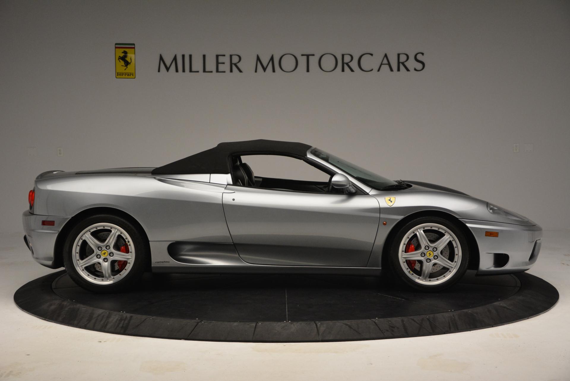Used 2004 Ferrari 360 Spider 6-Speed Manual  For Sale In Greenwich, CT. Alfa Romeo of Greenwich, 4317 138_p21