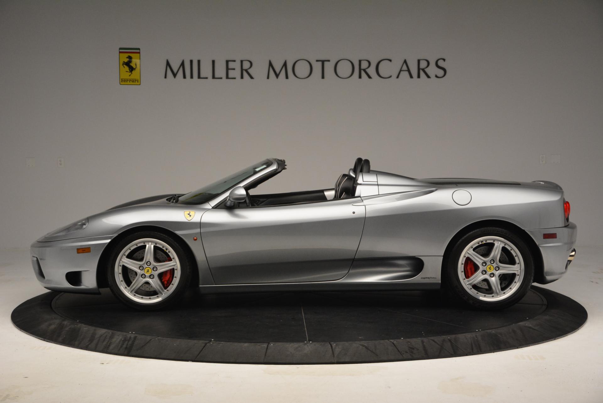 Used 2004 Ferrari 360 Spider 6-Speed Manual  For Sale In Greenwich, CT. Alfa Romeo of Greenwich, 4317 138_p3