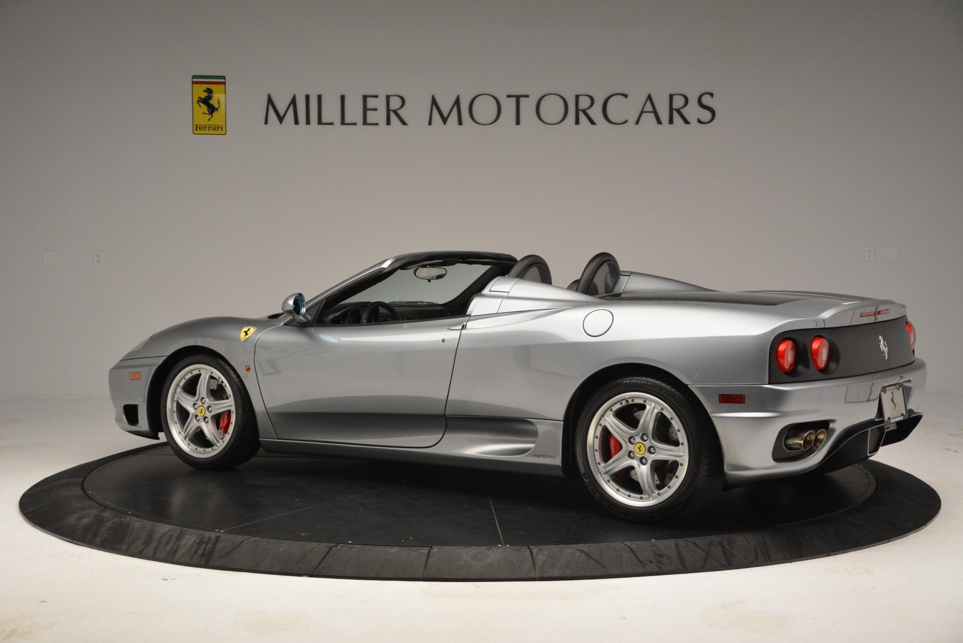 Used 2004 Ferrari 360 Spider 6-Speed Manual  For Sale In Greenwich, CT. Alfa Romeo of Greenwich, 4317 138_p4