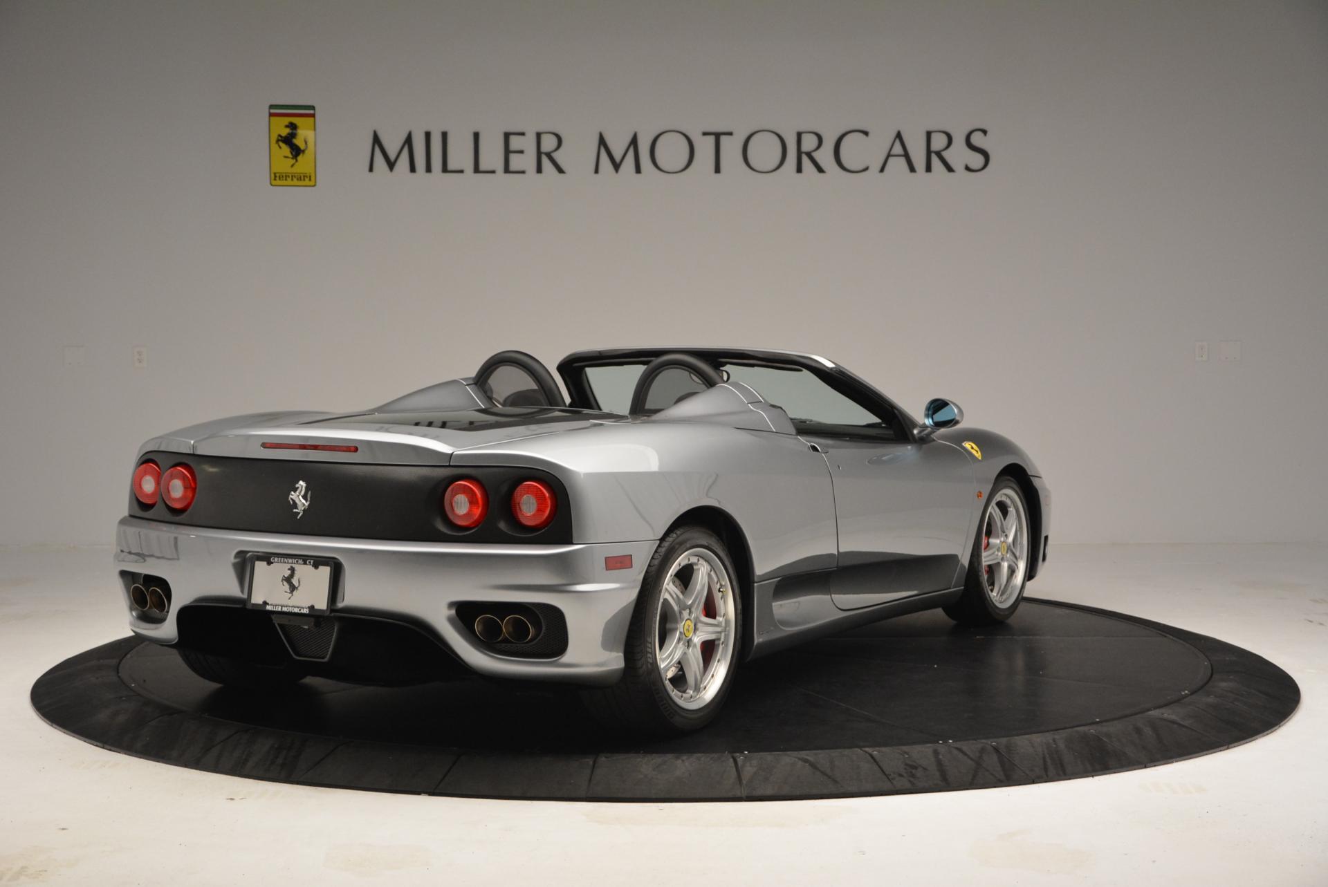 Used 2004 Ferrari 360 Spider 6-Speed Manual  For Sale In Greenwich, CT. Alfa Romeo of Greenwich, 4317 138_p7