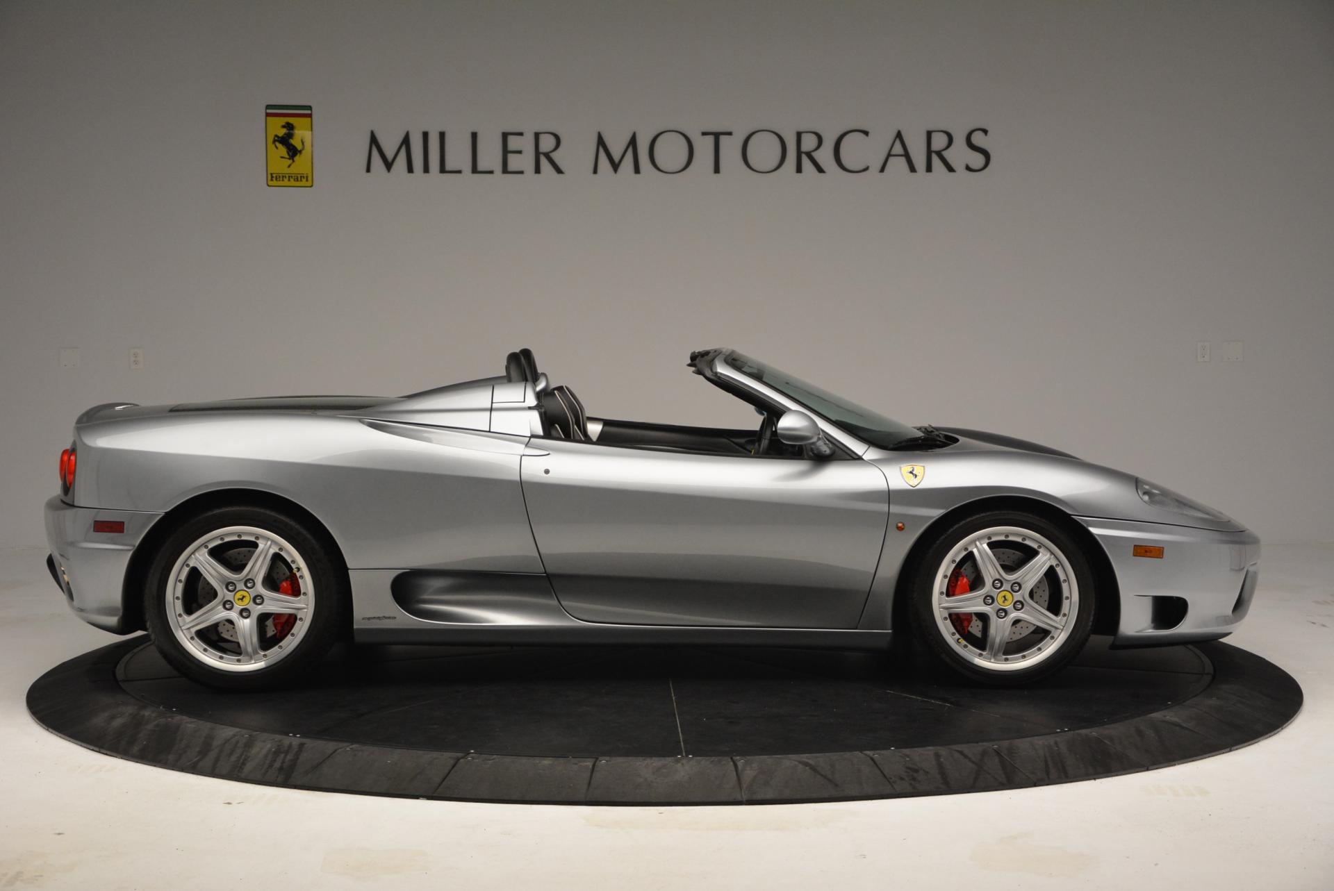 Used 2004 Ferrari 360 Spider 6-Speed Manual  For Sale In Greenwich, CT. Alfa Romeo of Greenwich, 4317 138_p9