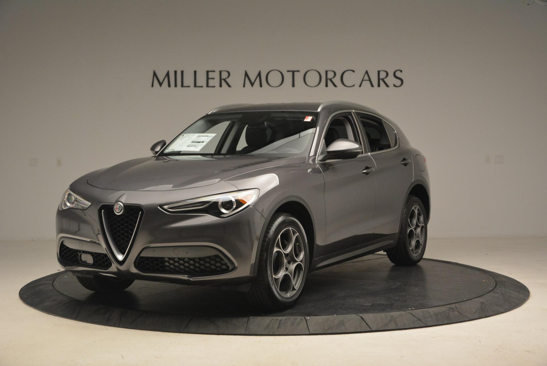 New 2018 Alfa Romeo Stelvio Sport Q4 For Sale In Greenwich, CT. Alfa Romeo of Greenwich, L186 1381_main