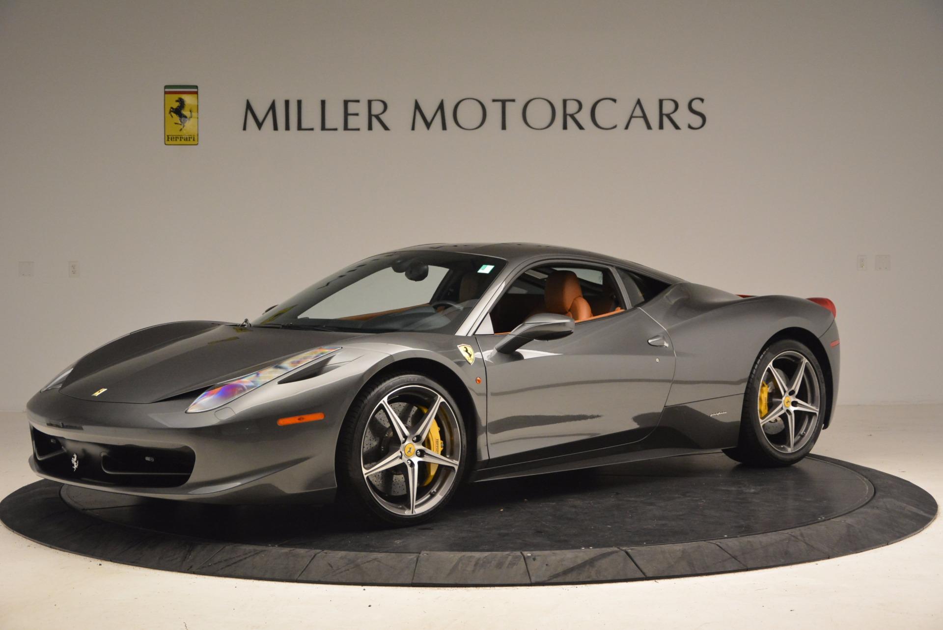 Used 2011 Ferrari 458 Italia  For Sale In Greenwich, CT. Alfa Romeo of Greenwich, 4393A 1385_p2