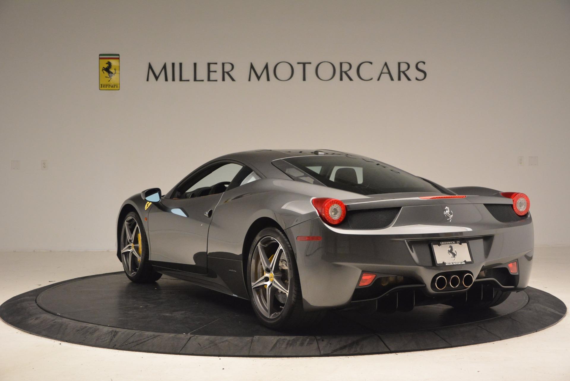 Used 2011 Ferrari 458 Italia  For Sale In Greenwich, CT. Alfa Romeo of Greenwich, 4393A 1385_p5