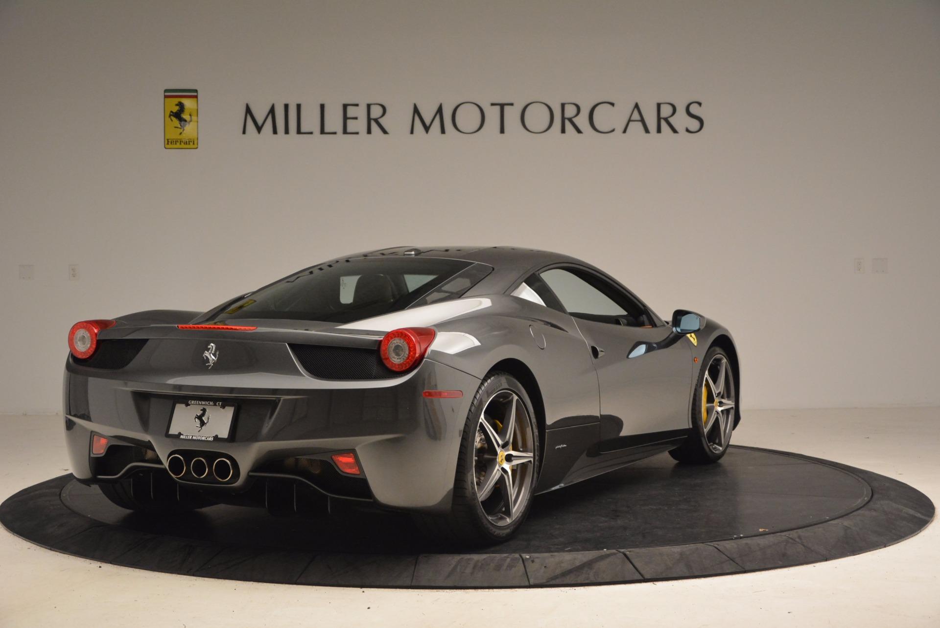 Used 2011 Ferrari 458 Italia  For Sale In Greenwich, CT. Alfa Romeo of Greenwich, 4393A 1385_p7