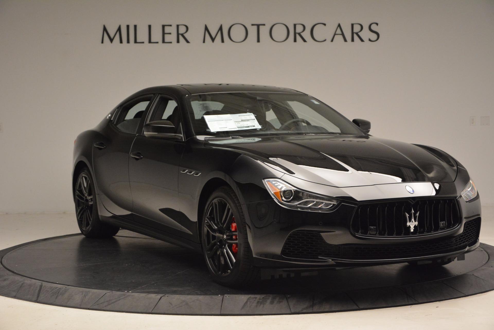 New 2017 Maserati Ghibli Nerissimo Edition S Q4 For Sale In Greenwich, CT. Alfa Romeo of Greenwich, W478 1391_p11