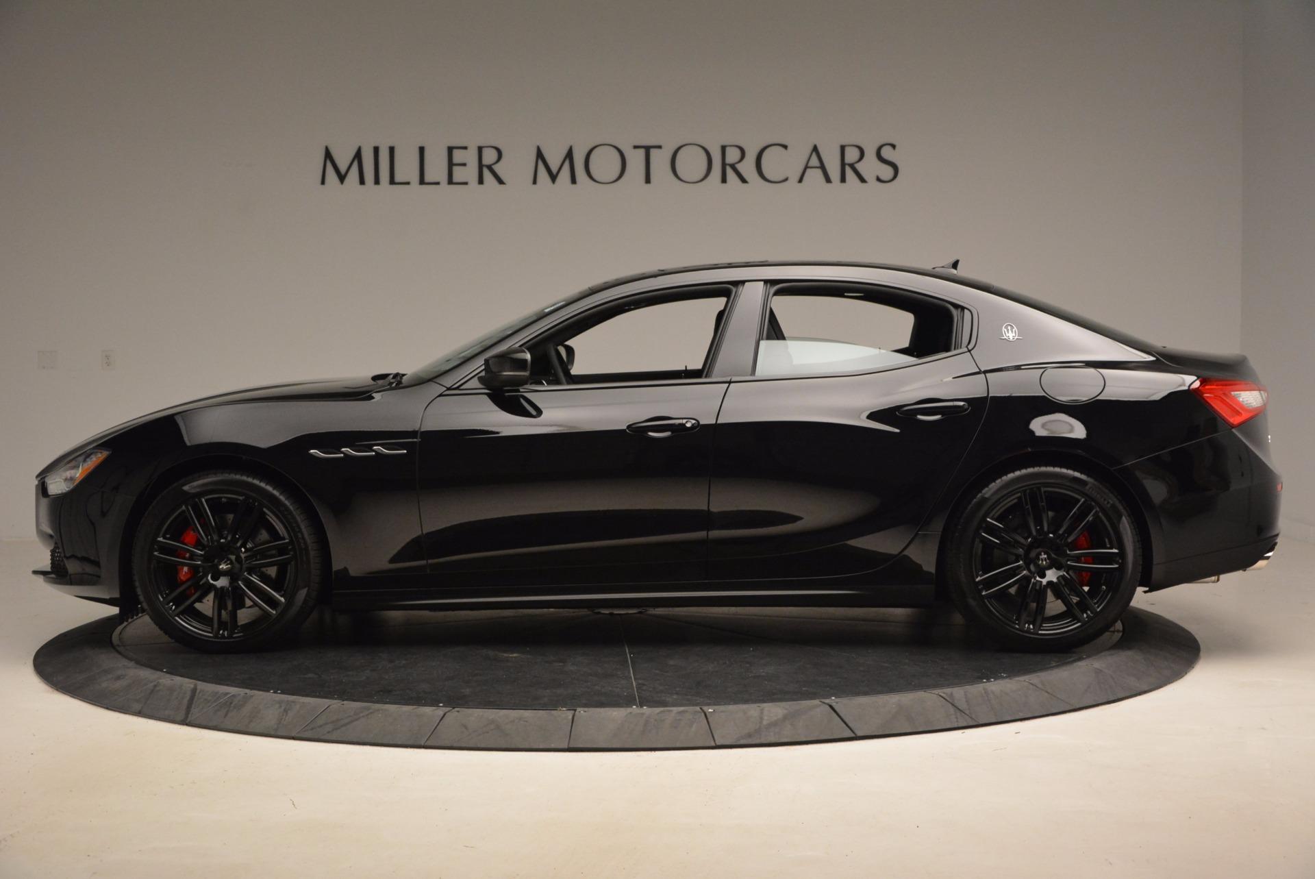 New 2017 Maserati Ghibli Nerissimo Edition S Q4 For Sale In Greenwich, CT. Alfa Romeo of Greenwich, W478 1391_p3