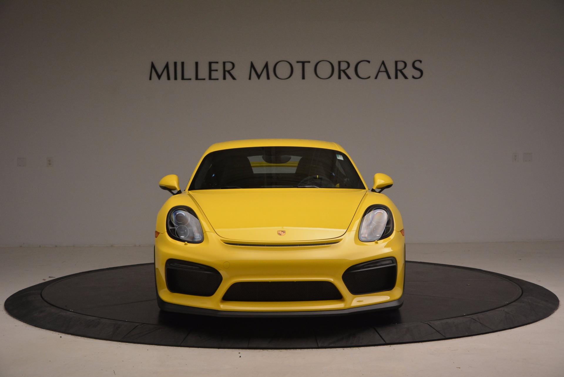 Used 2016 Porsche Cayman GT4 For Sale In Greenwich, CT. Alfa Romeo of Greenwich, 7240 1401_p12