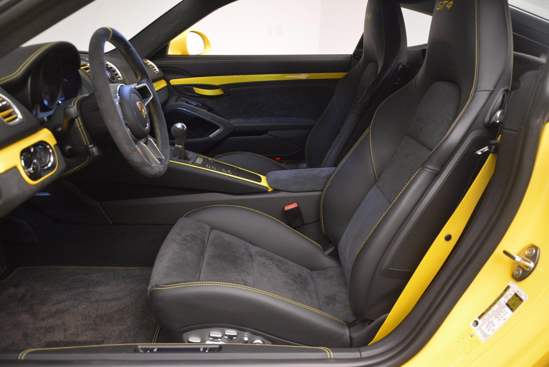 Used 2016 Porsche Cayman GT4 For Sale In Greenwich, CT. Alfa Romeo of Greenwich, 7240 1401_p14
