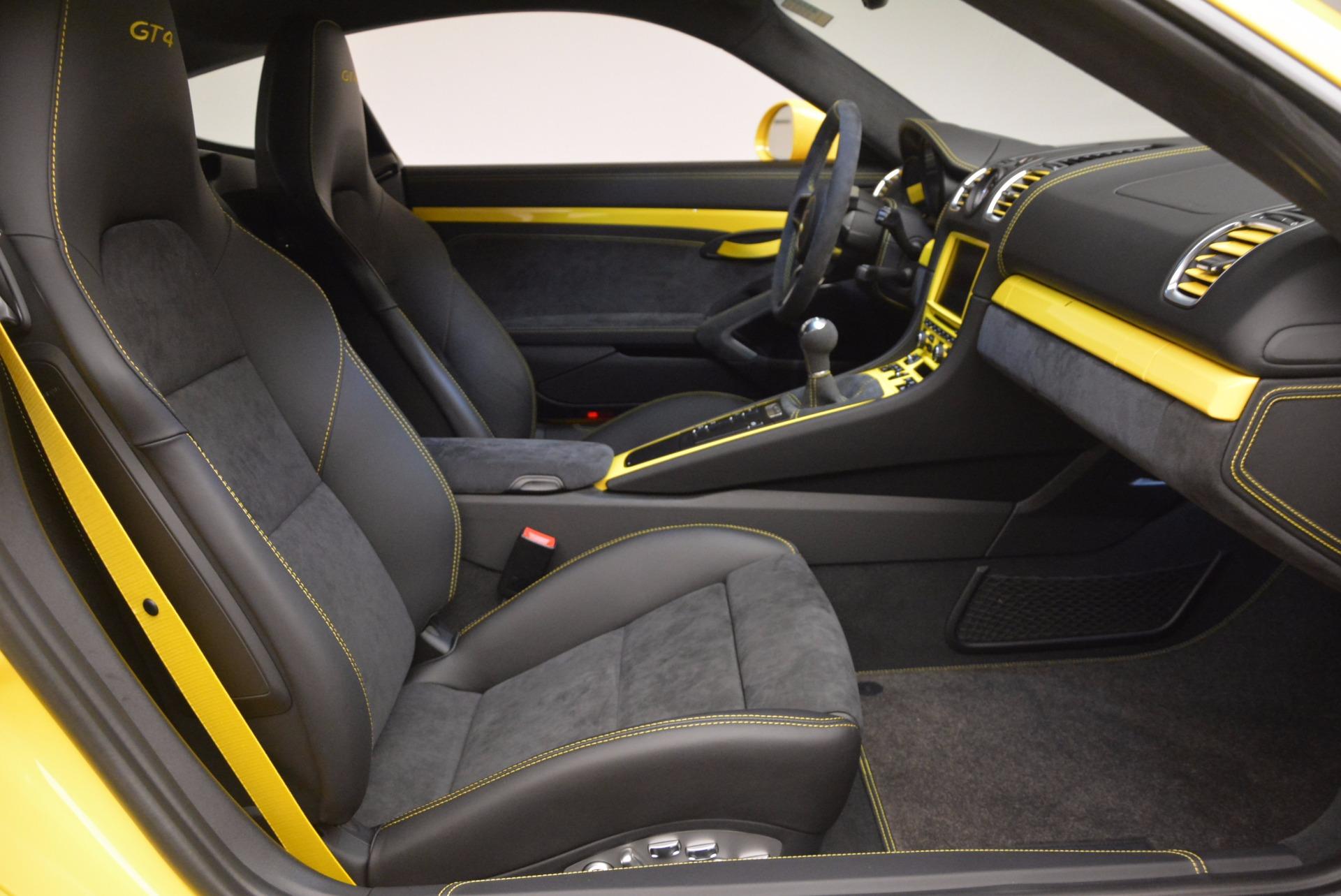 Used 2016 Porsche Cayman GT4 For Sale In Greenwich, CT. Alfa Romeo of Greenwich, 7240 1401_p18