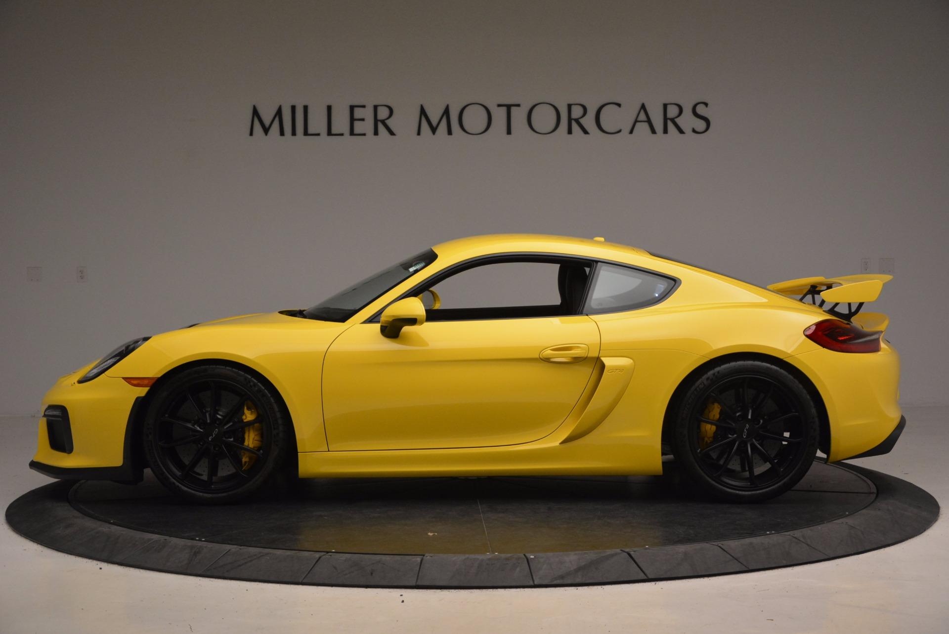 Used 2016 Porsche Cayman GT4 For Sale In Greenwich, CT. Alfa Romeo of Greenwich, 7240 1401_p3
