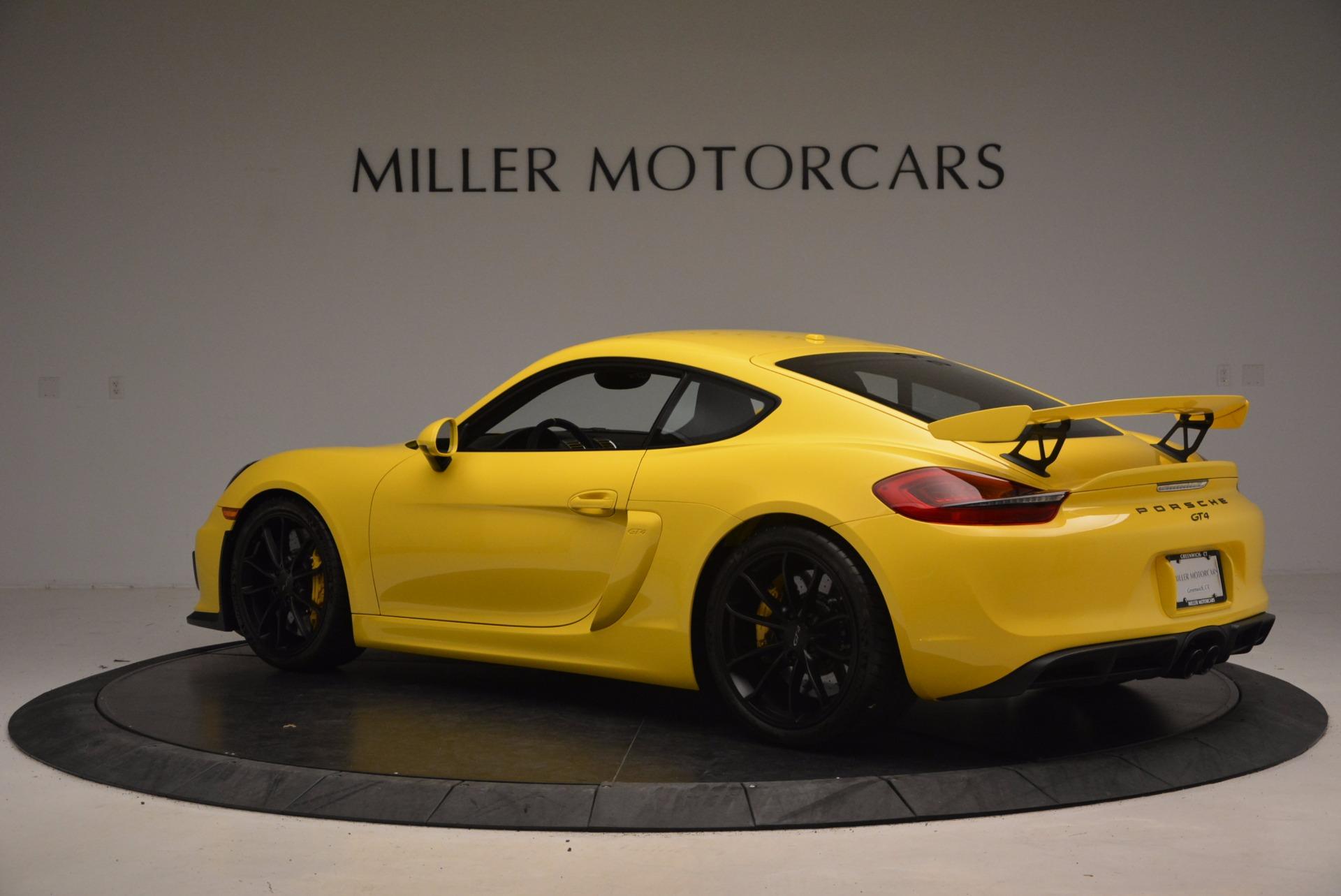 Used 2016 Porsche Cayman GT4 For Sale In Greenwich, CT. Alfa Romeo of Greenwich, 7240 1401_p4