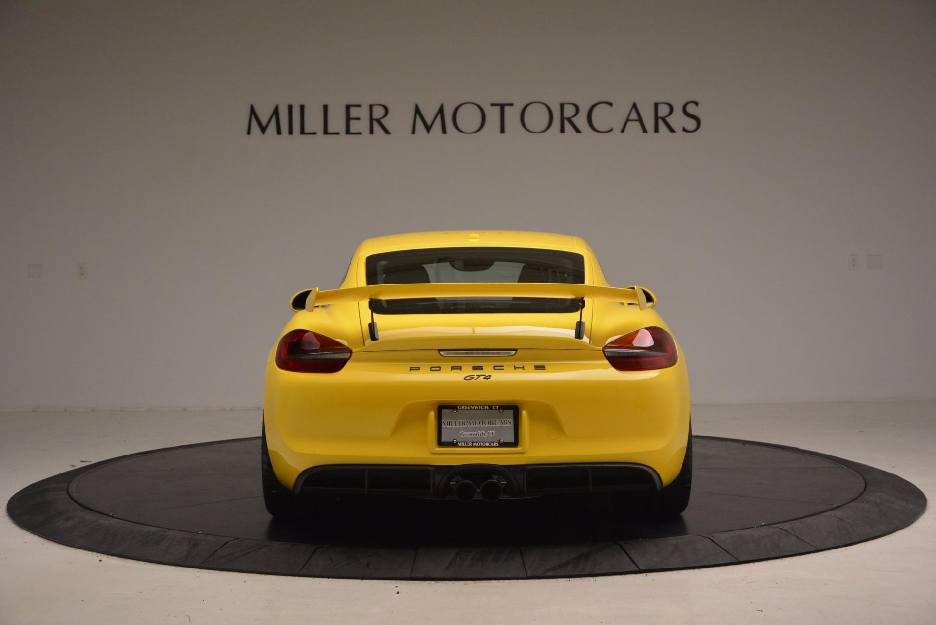 Used 2016 Porsche Cayman GT4 For Sale In Greenwich, CT. Alfa Romeo of Greenwich, 7240 1401_p6