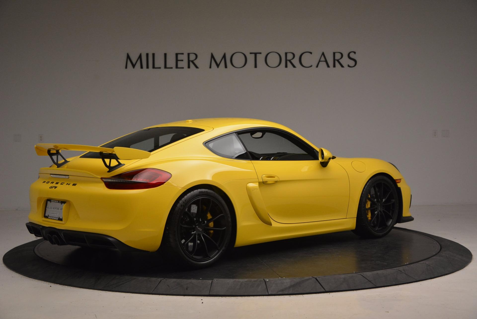 Used 2016 Porsche Cayman GT4 For Sale In Greenwich, CT. Alfa Romeo of Greenwich, 7240 1401_p8