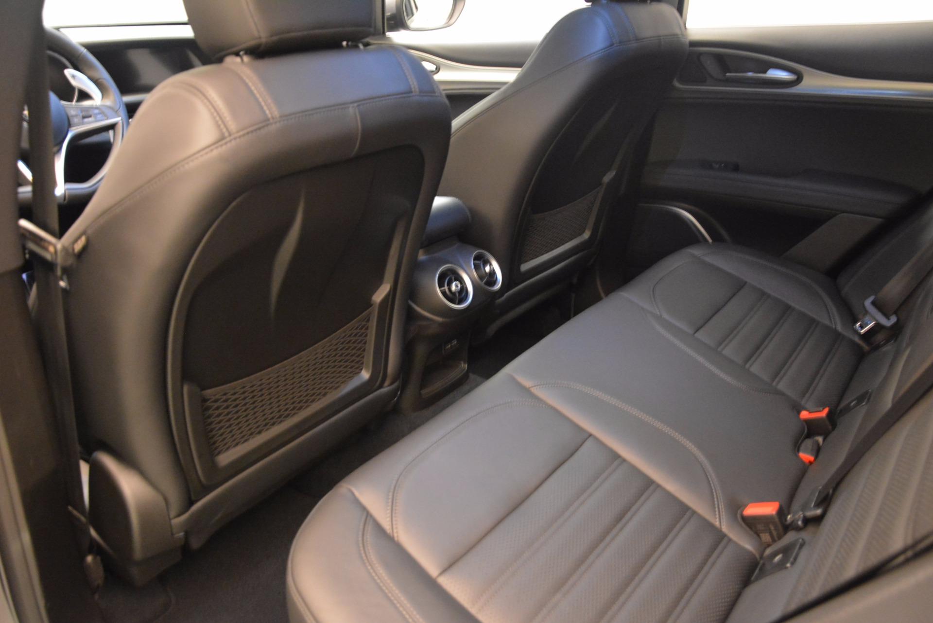 New 2018 Alfa Romeo Stelvio Ti Sport Q4 For Sale In Greenwich, CT. Alfa Romeo of Greenwich, L192 1411_p16