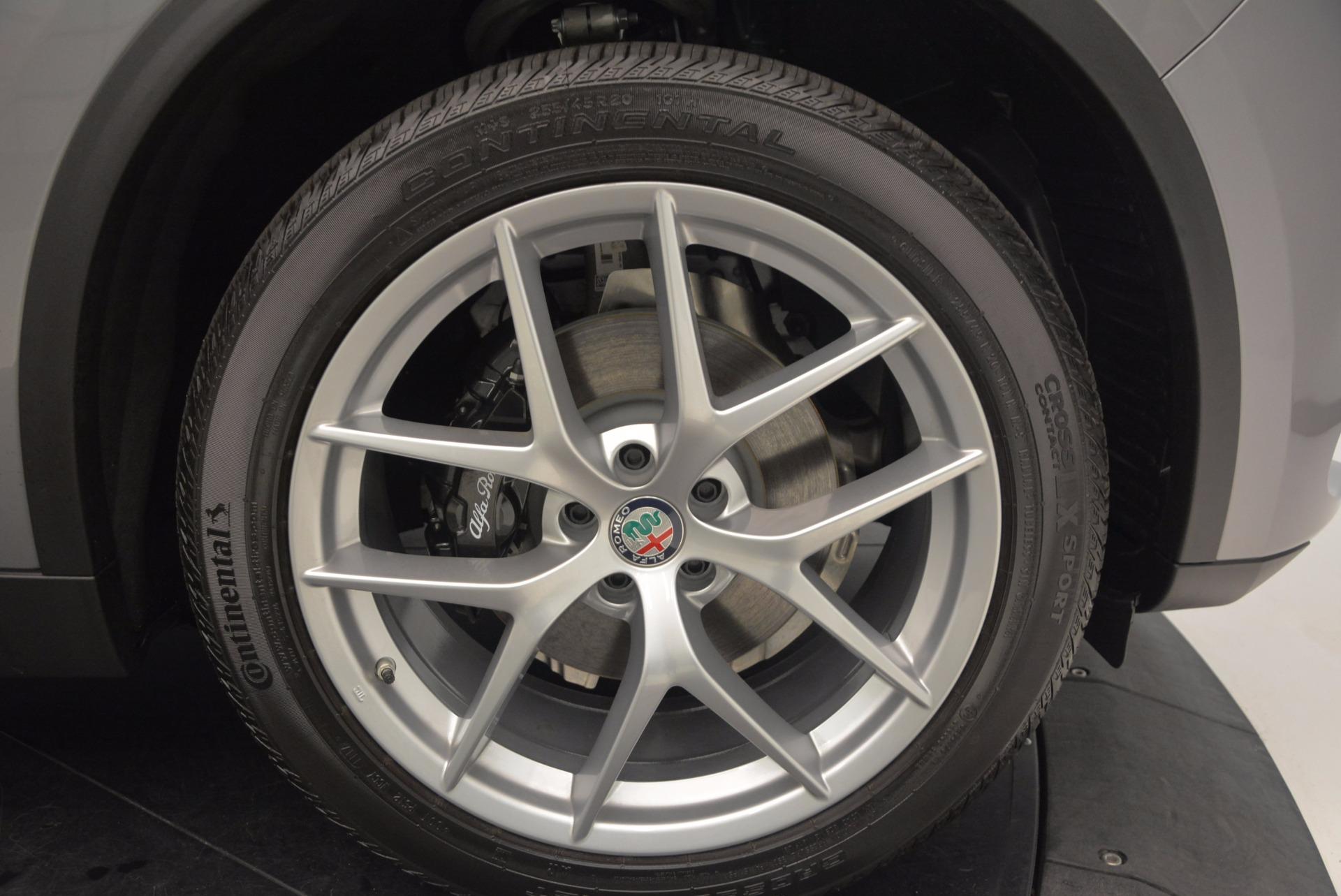 New 2018 Alfa Romeo Stelvio Ti Sport Q4 For Sale In Greenwich, CT. Alfa Romeo of Greenwich, L192 1411_p25