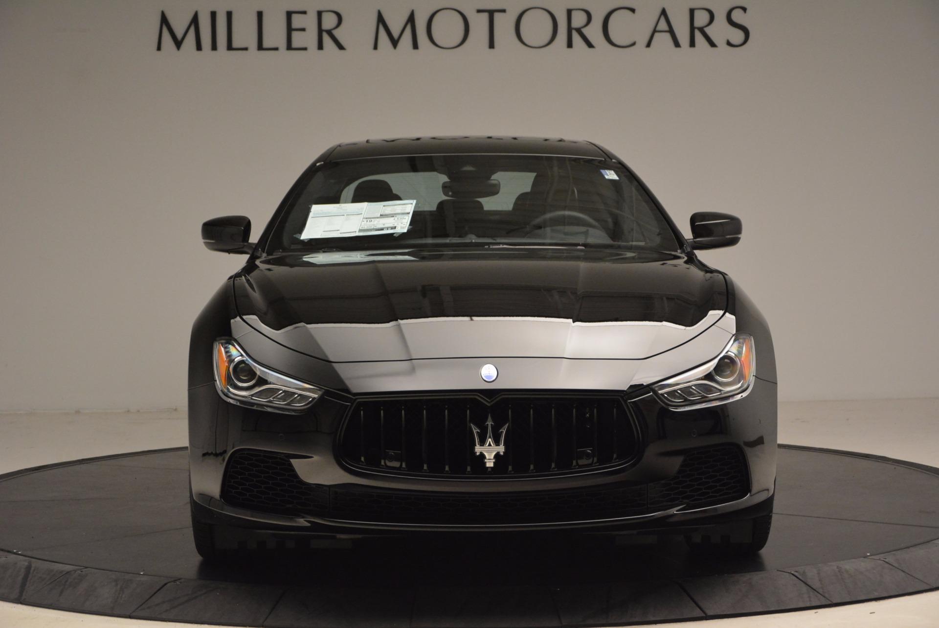New 2017 Maserati Ghibli Nerissimo Edition S Q4 For Sale In Greenwich, CT. Alfa Romeo of Greenwich, M1895 1420_p12