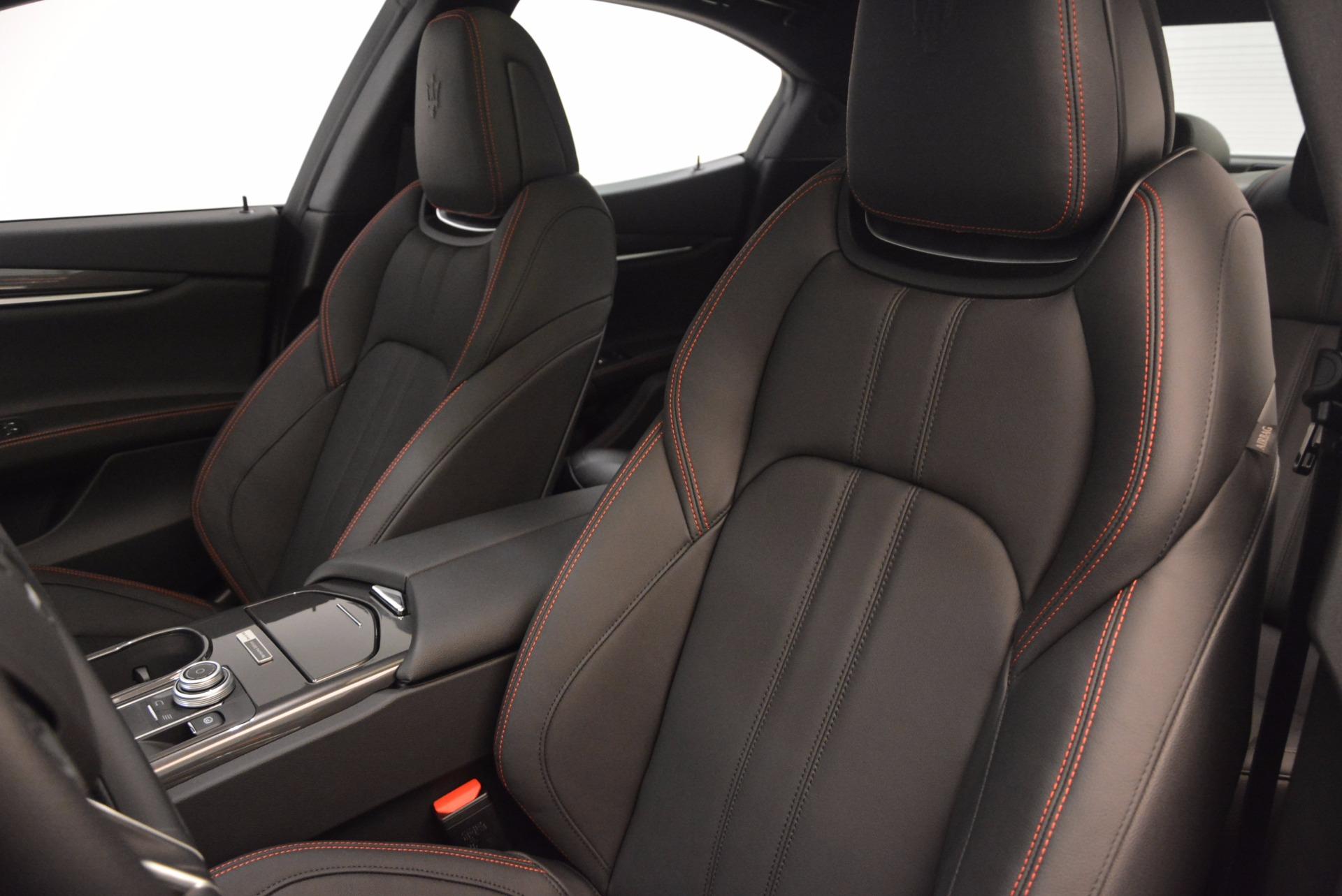 New 2017 Maserati Ghibli Nerissimo Edition S Q4 For Sale In Greenwich, CT. Alfa Romeo of Greenwich, M1895 1420_p16