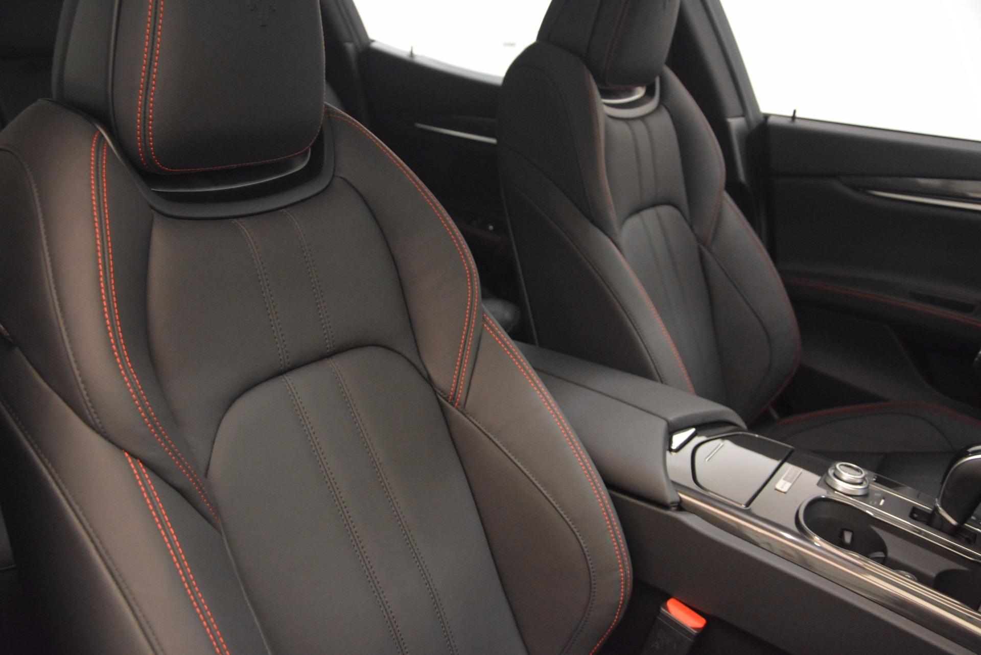 New 2017 Maserati Ghibli Nerissimo Edition S Q4 For Sale In Greenwich, CT. Alfa Romeo of Greenwich, M1895 1420_p17
