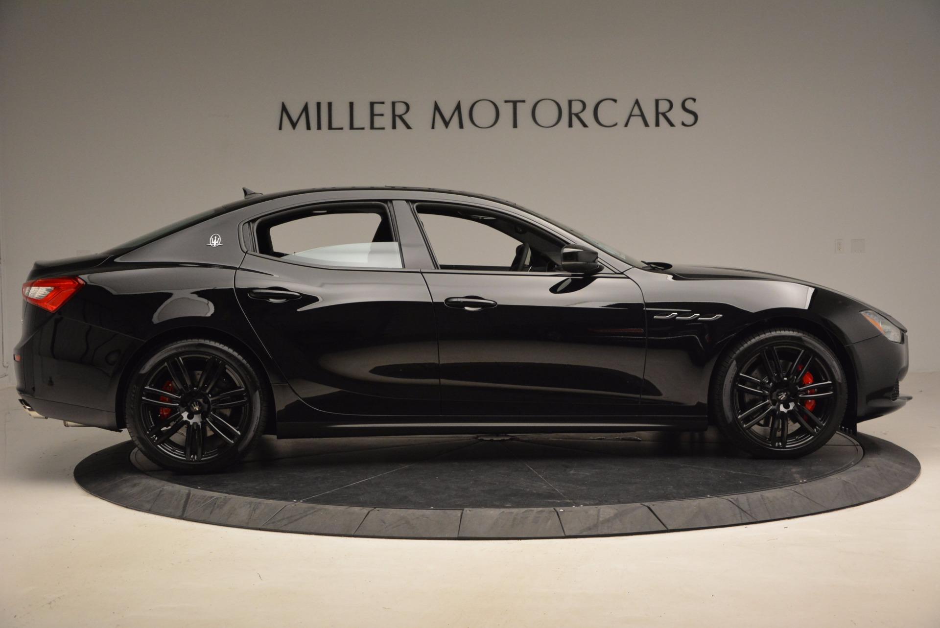 New 2017 Maserati Ghibli Nerissimo Edition S Q4 For Sale In Greenwich, CT. Alfa Romeo of Greenwich, M1895 1420_p9