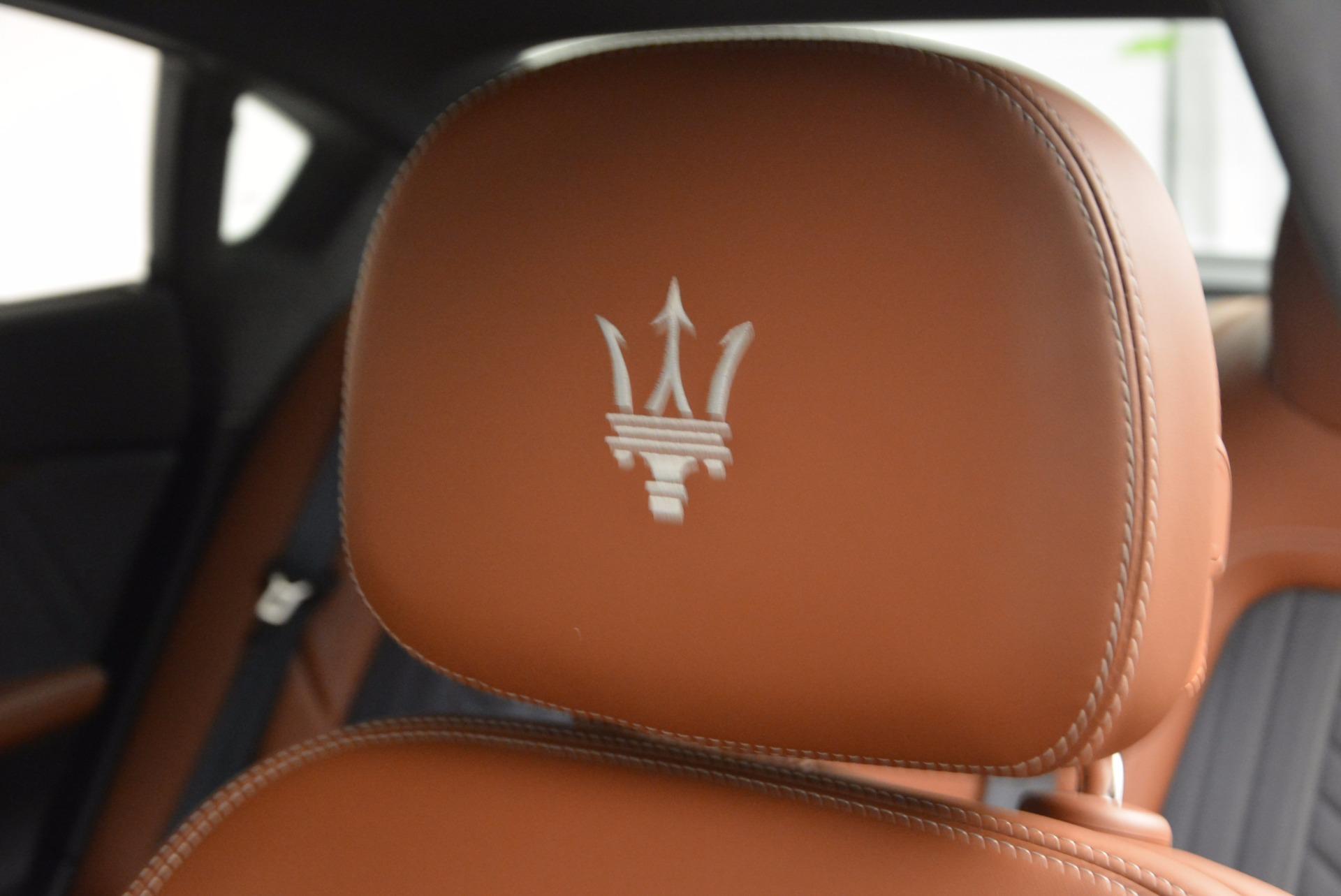 New 2017 Maserati Quattroporte S Q4 GranLusso For Sale In Greenwich, CT. Alfa Romeo of Greenwich, W476 1422_p30
