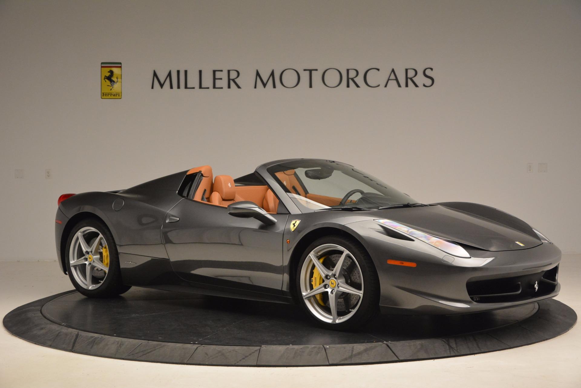 Used 2015 Ferrari 458 Spider  For Sale In Greenwich, CT. Alfa Romeo of Greenwich, 4402A 1423_p10